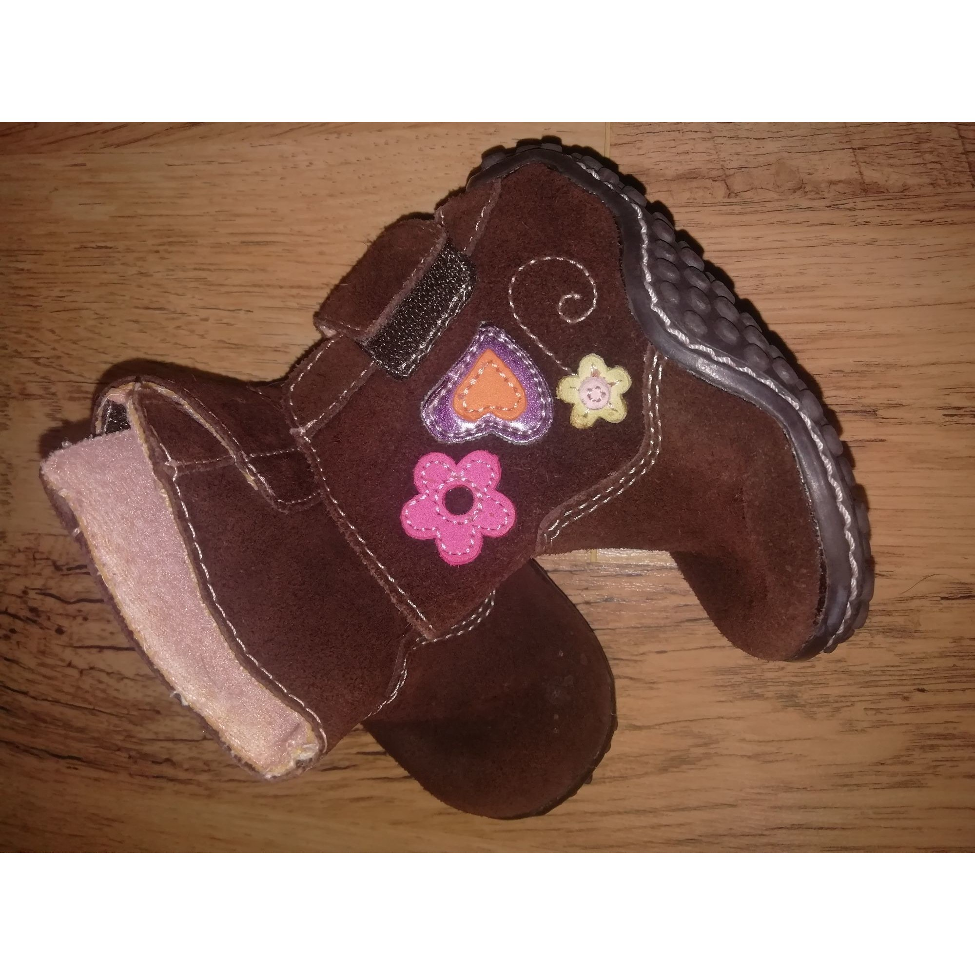 Ankle Boots GENUINE KIDS Brown
