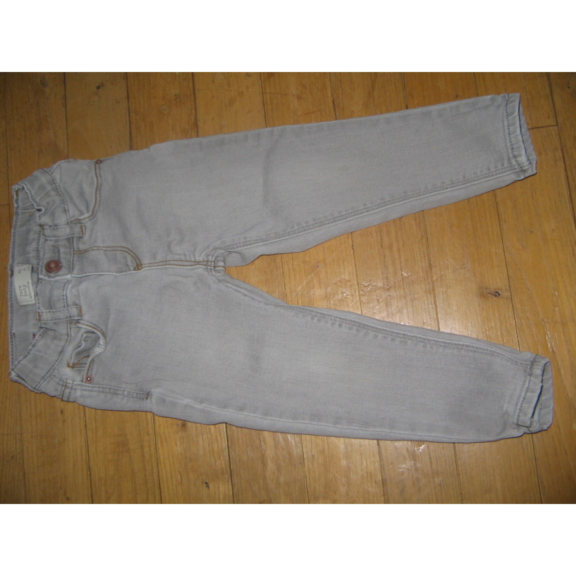 Pantalon ZARA Gris, anthracite