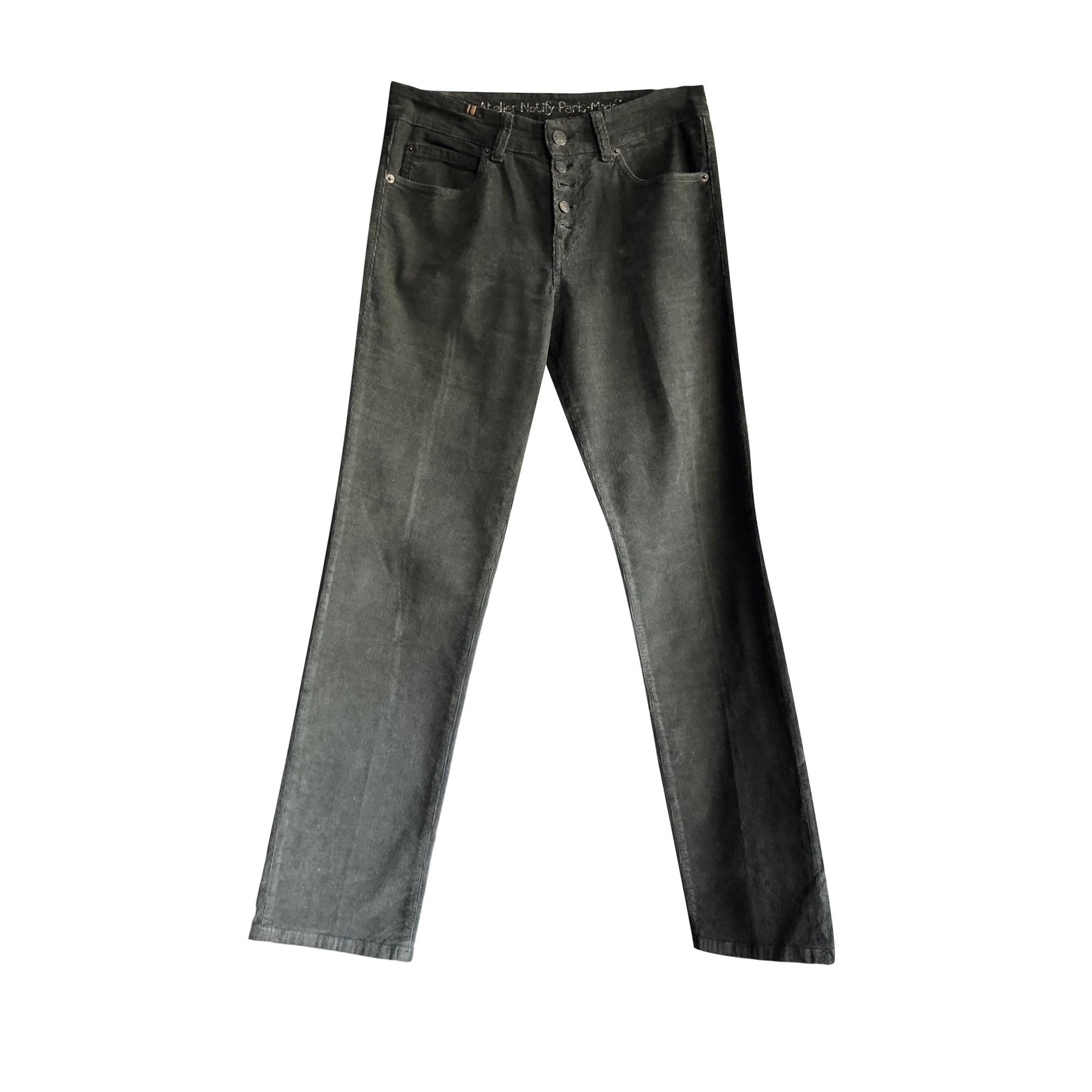 Pantalon droit NOTIFY Vert
