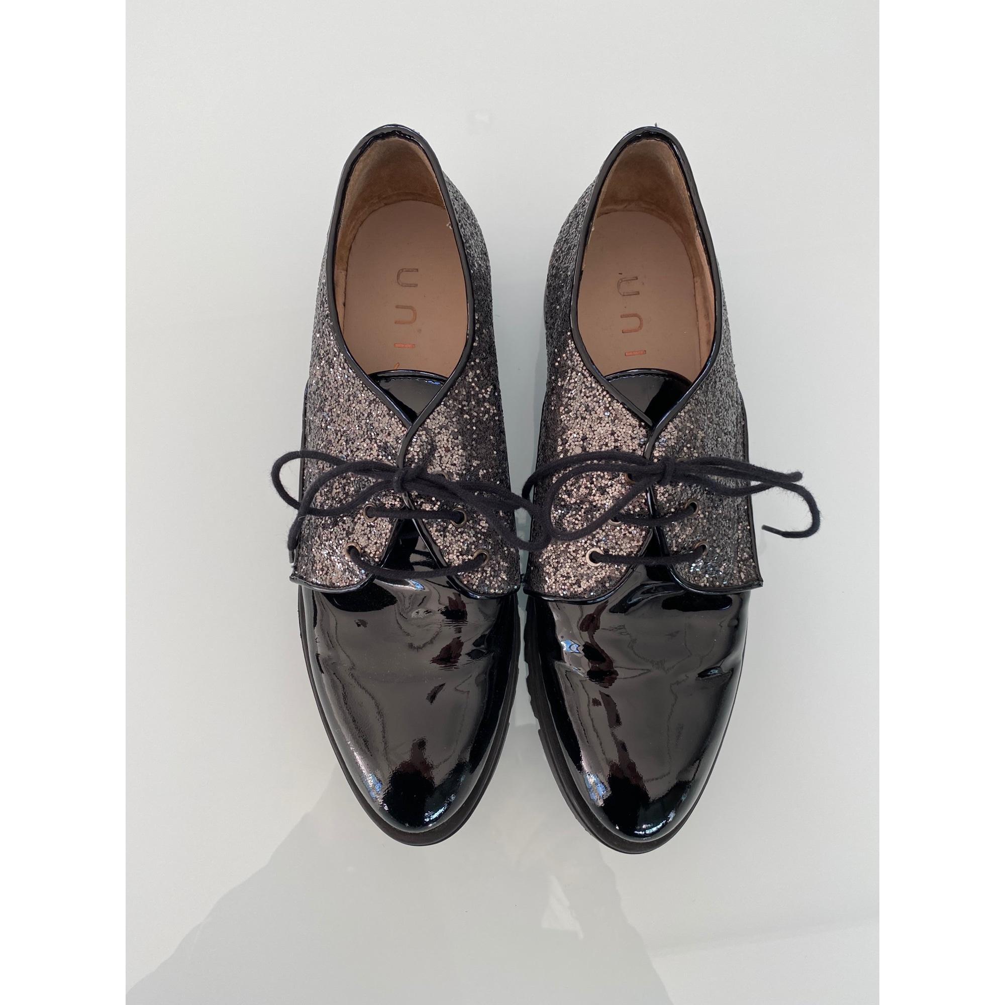 Chaussures à lacets  UNISA Noir