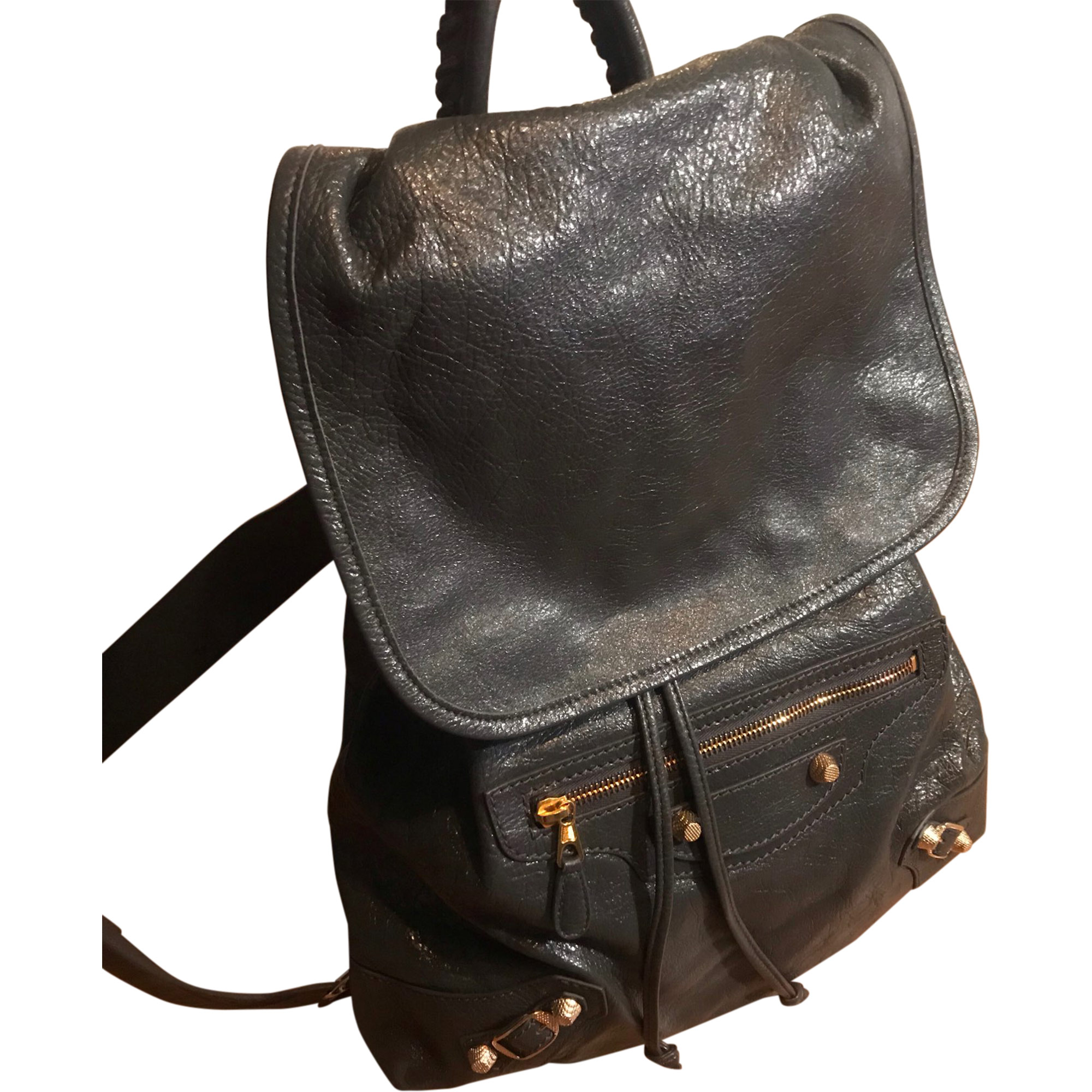 Backpack BALENCIAGA Gray, charcoal