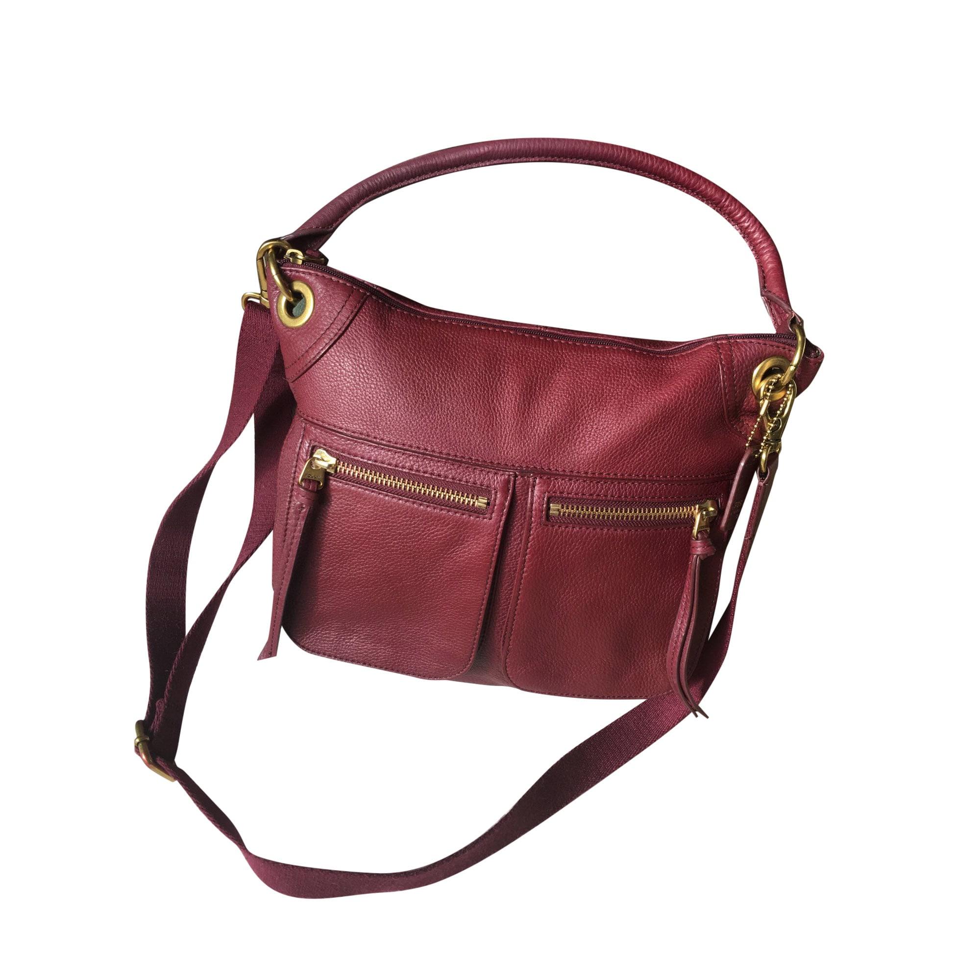 Lederhandtasche FOSSIL Rouge Hermes