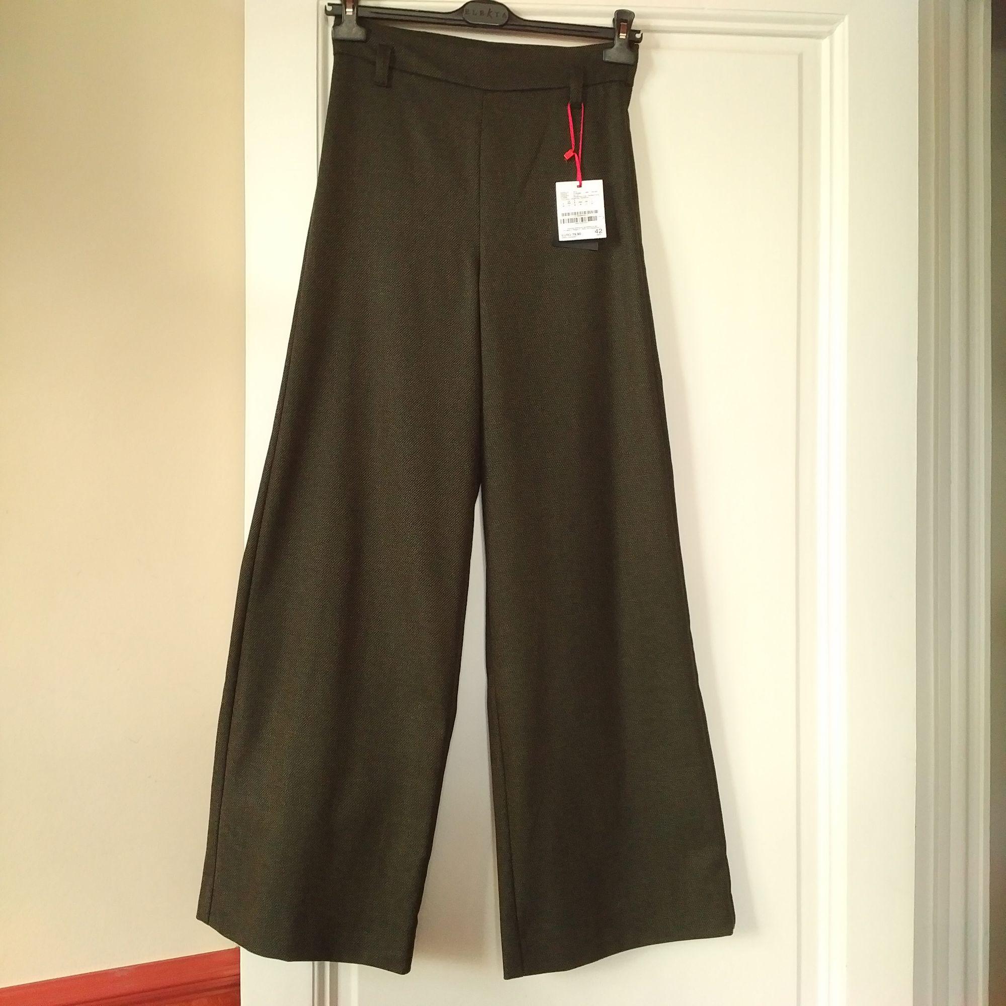 Pantalon large MARELLA Vert