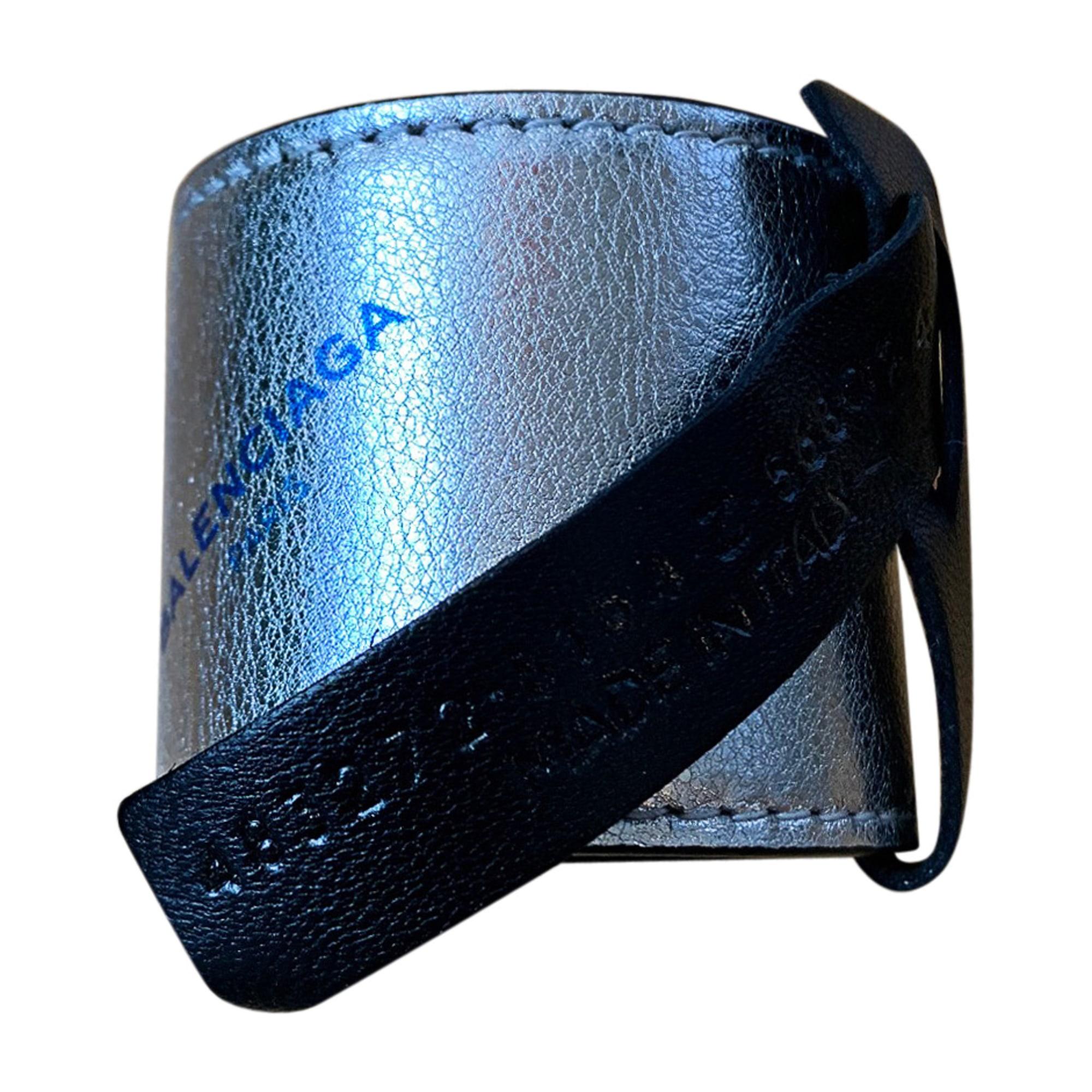 Bracelet BALENCIAGA Argenté, acier
