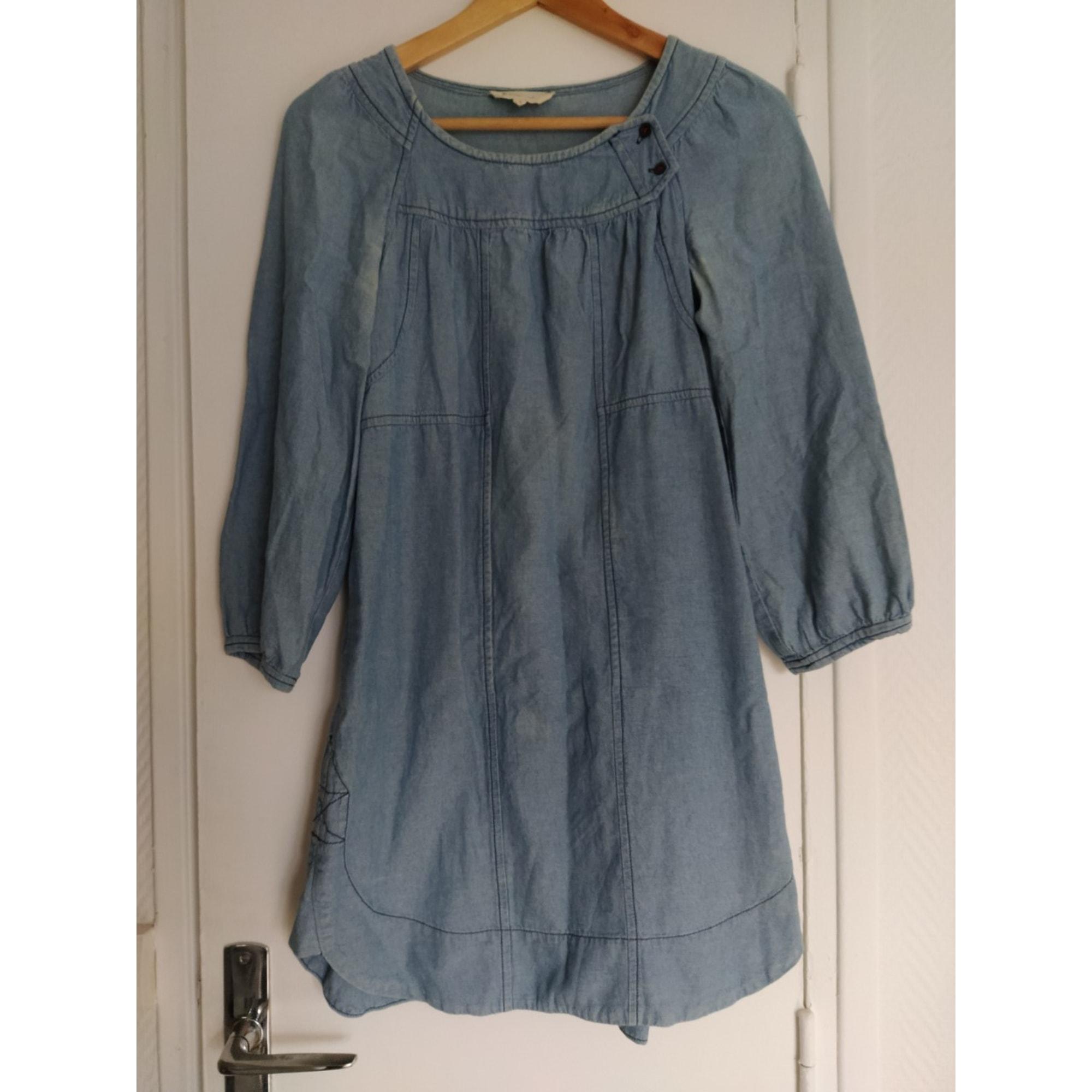 Robe en jeans ISABEL MARANT ETOILE Bleu, bleu marine, bleu turquoise