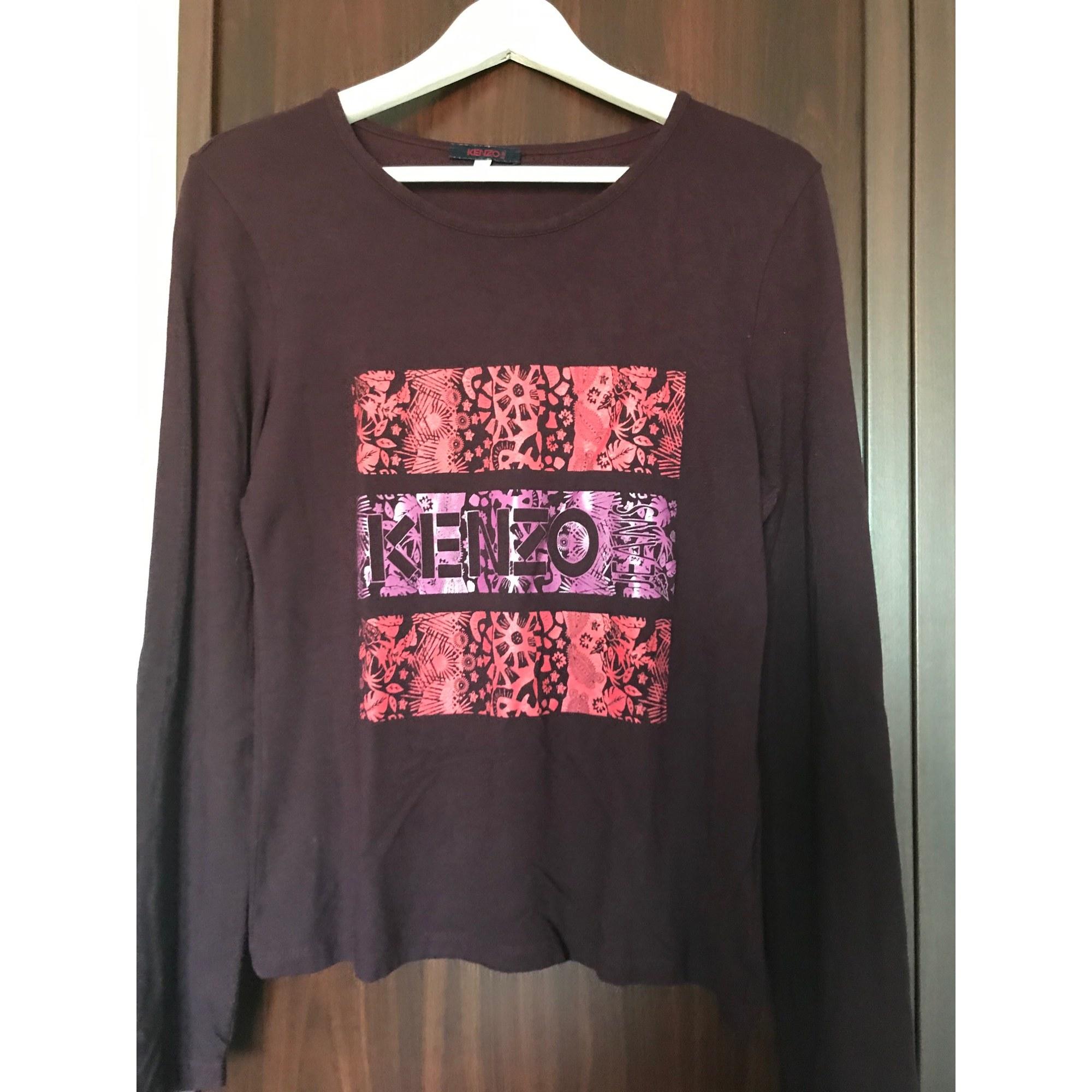 Top, tee-shirt KENZO Rouge, bordeaux