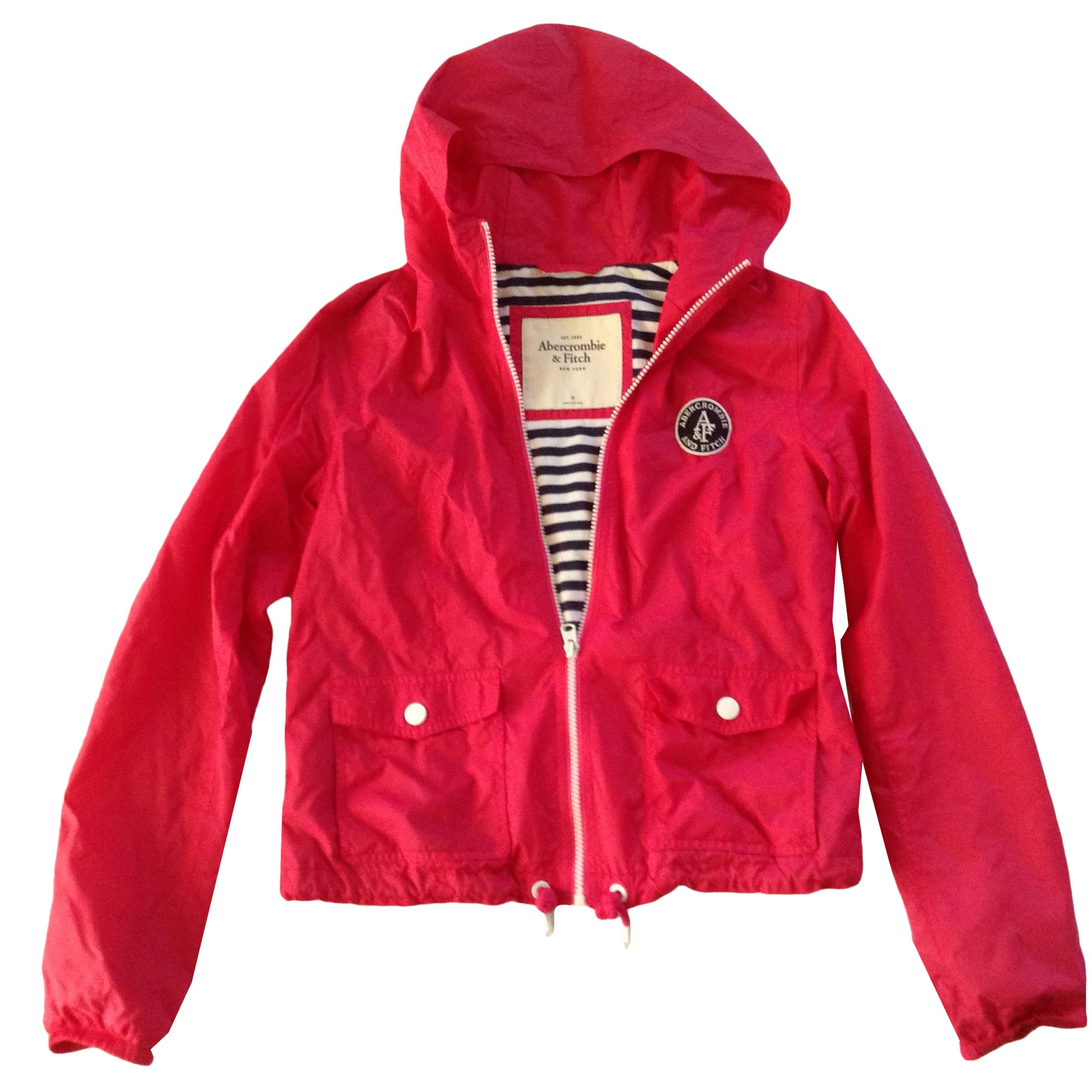 Imperméable, trench ABERCROMBIE & FITCH Rose, fuschia, vieux rose
