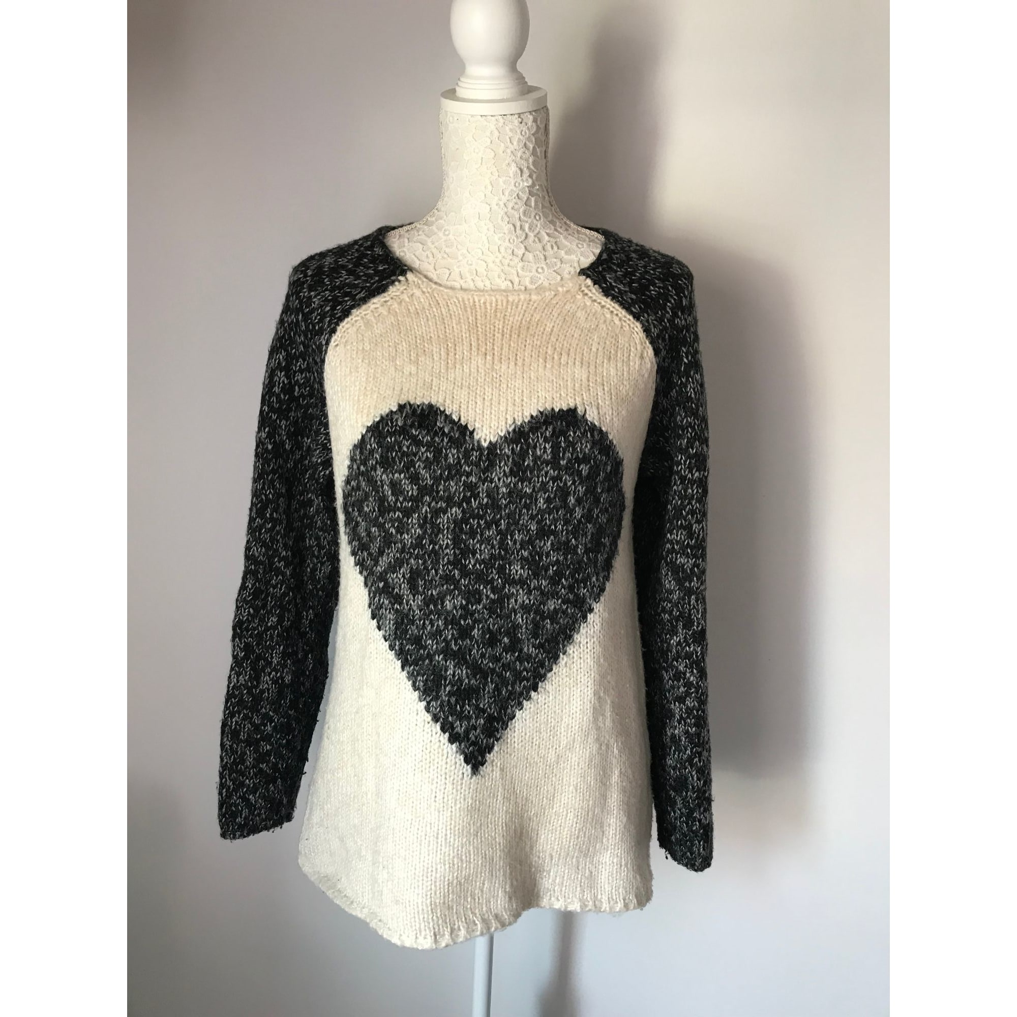 Pull FOREVER 21 Gris, anthracite
