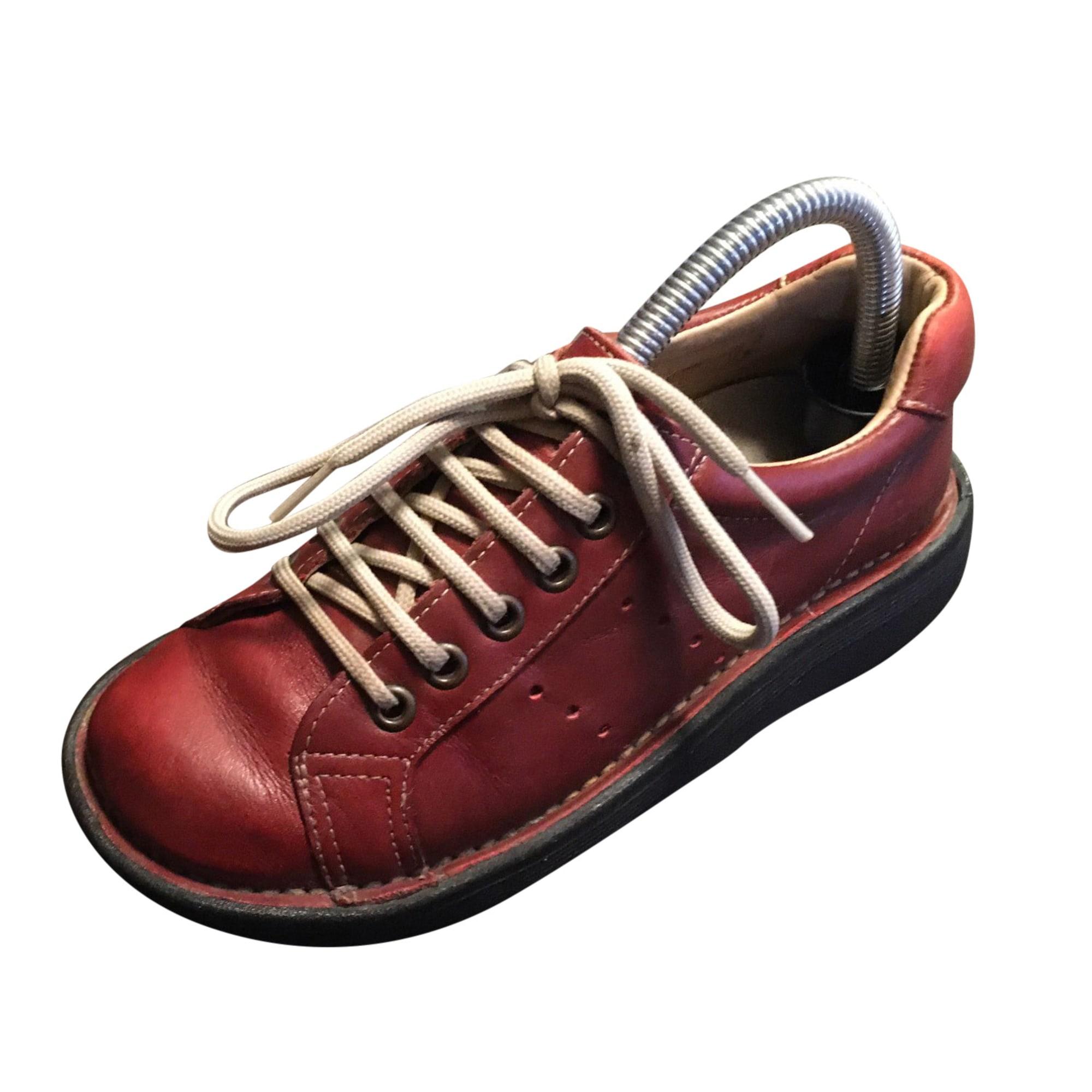 Chaussures à lacets  DR. MARTENS Bordeaux