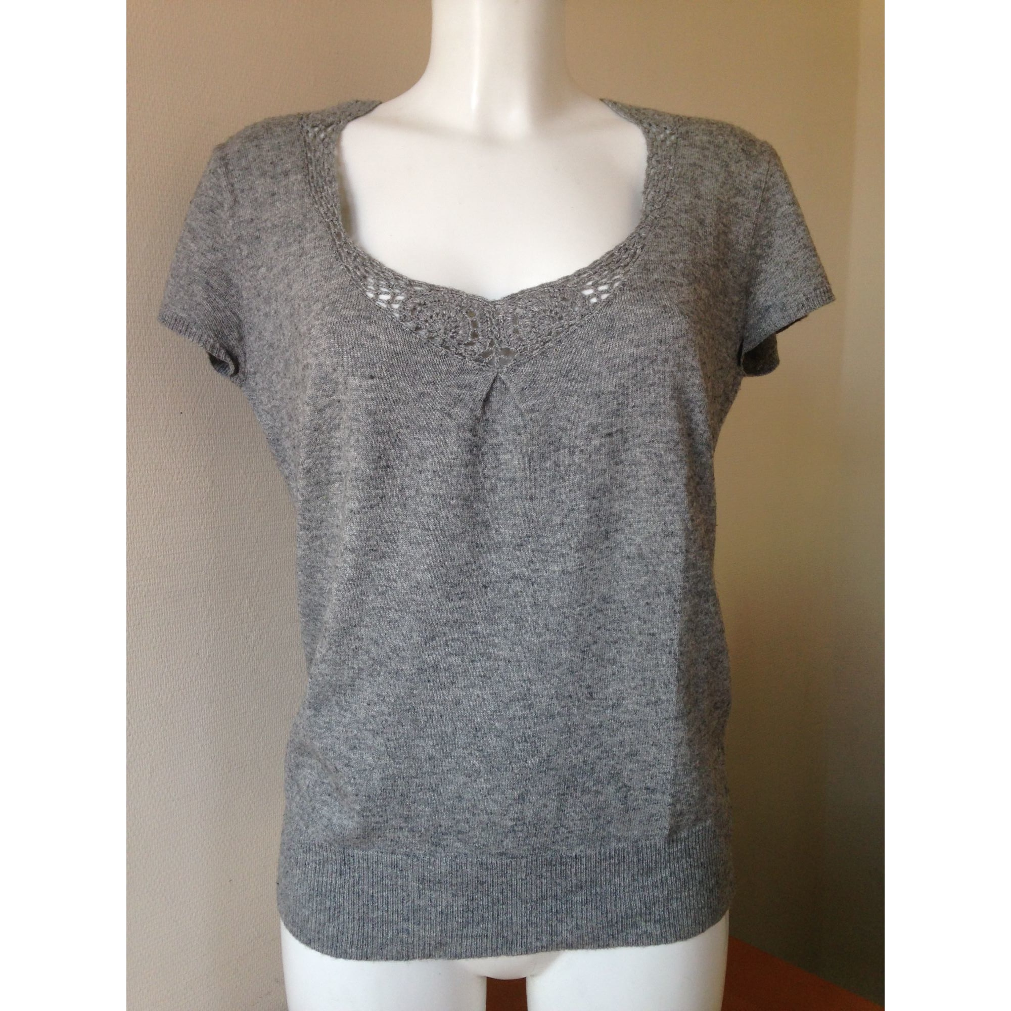Pull SUD EXPRESS Gris, anthracite