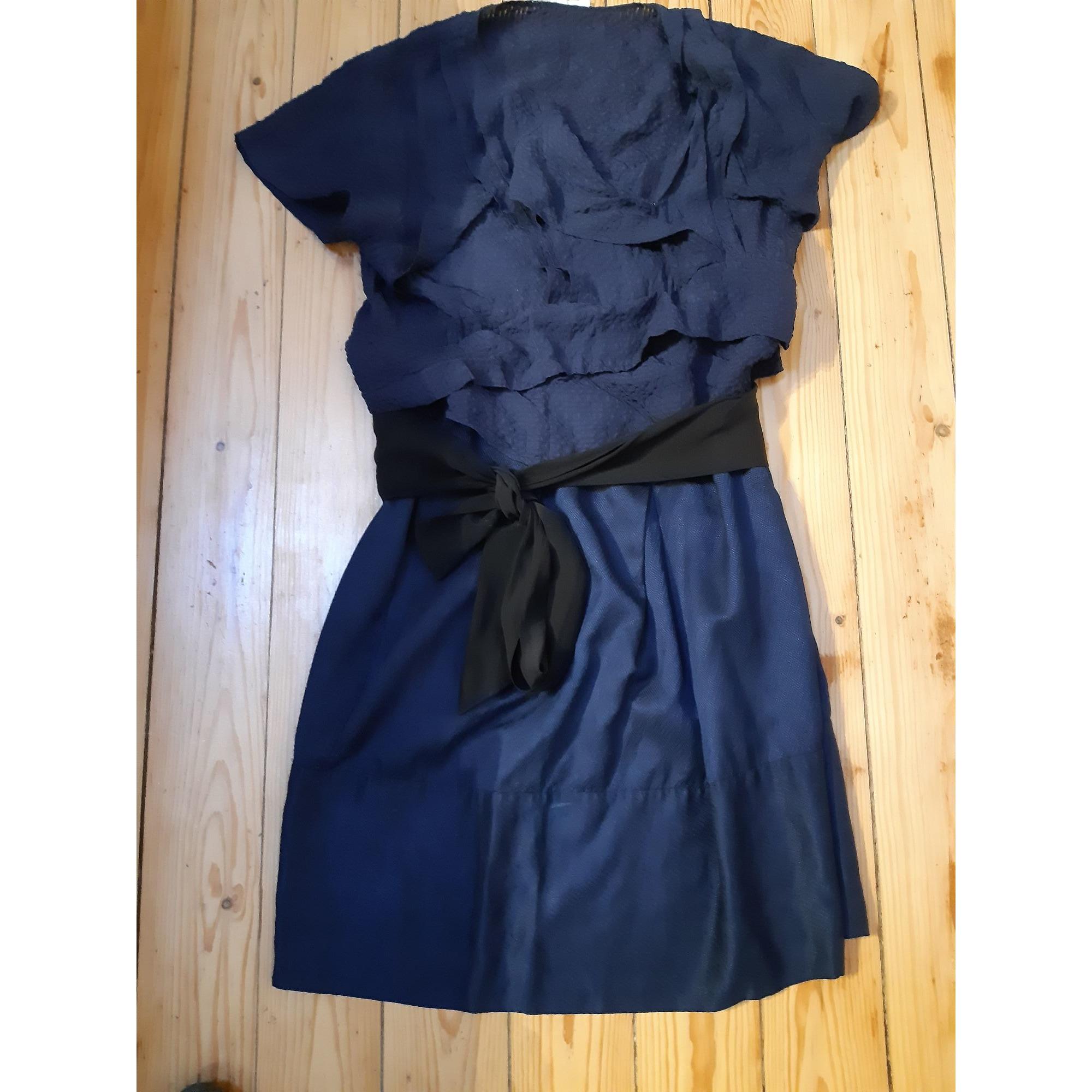 Robe mi-longue VANESSA BRUNO Bleu, bleu marine, bleu turquoise