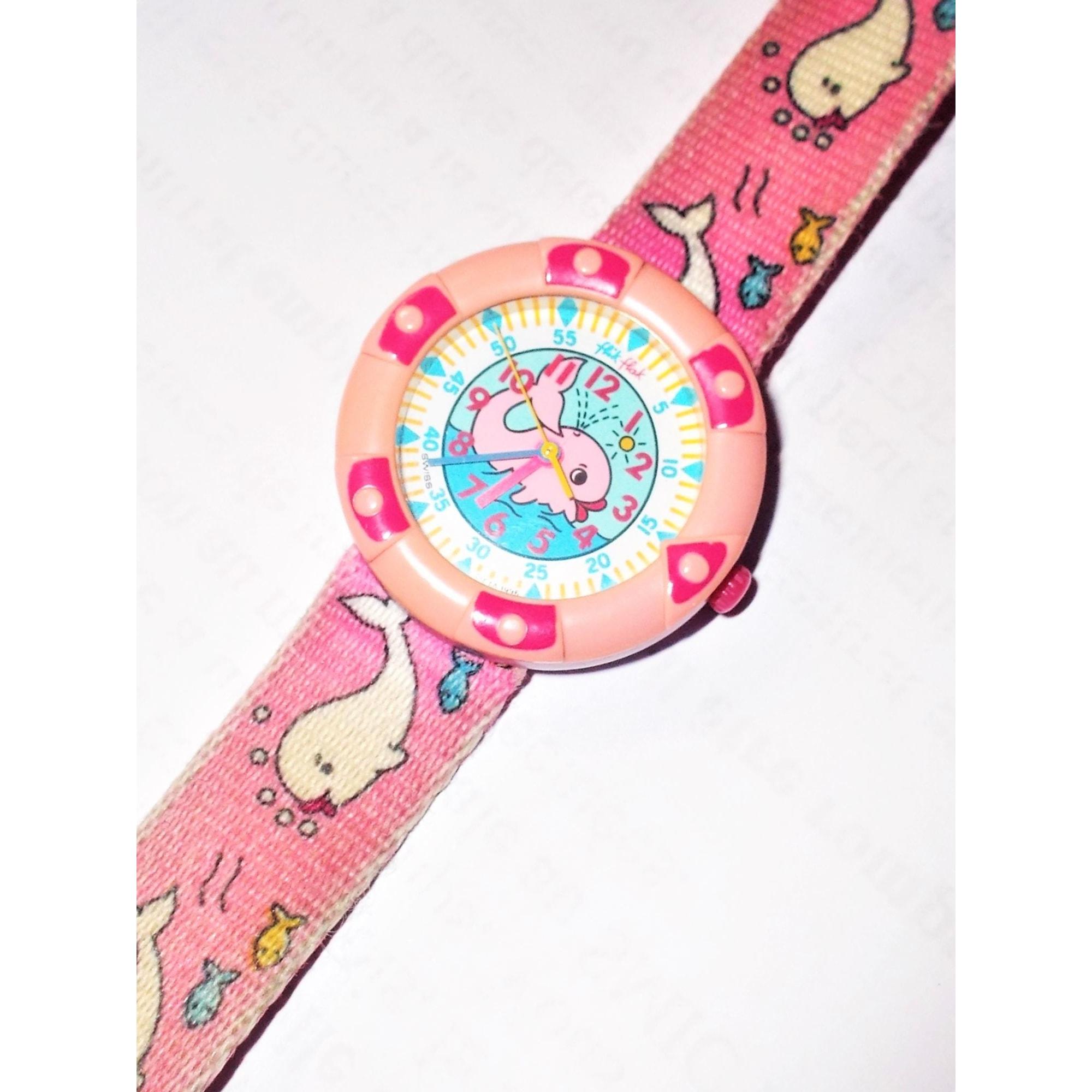 Watch FLIK FLAK Pink, fuchsia, light pink