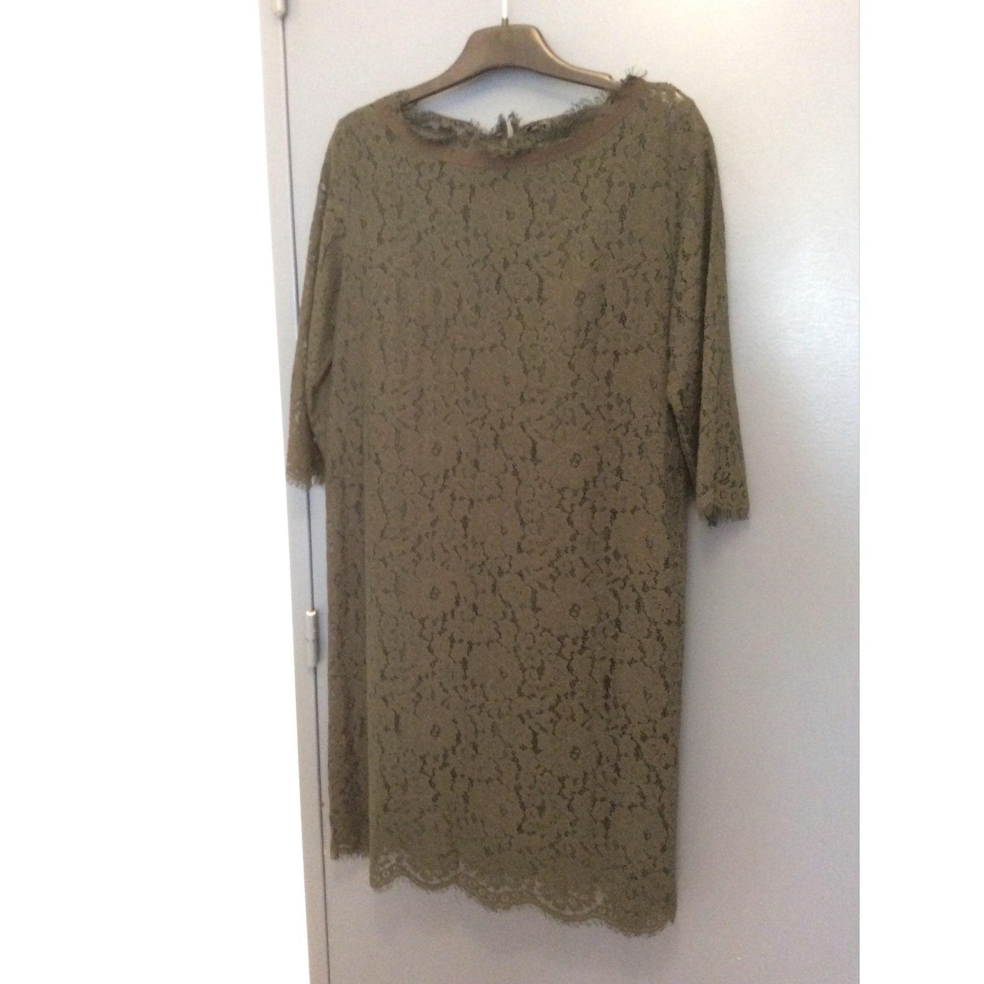 Robe courte MONOPRIX Vert