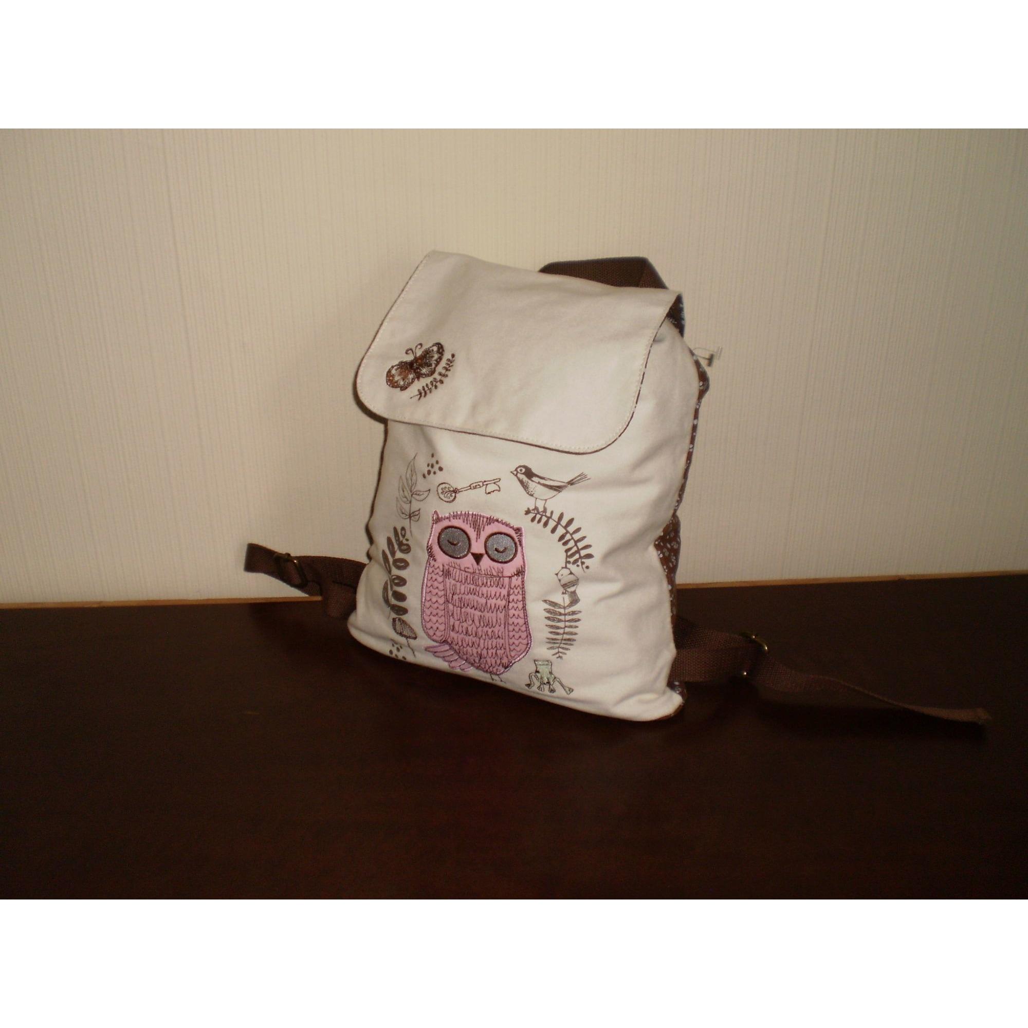 Backpack PAPER CHASE Beige, camel