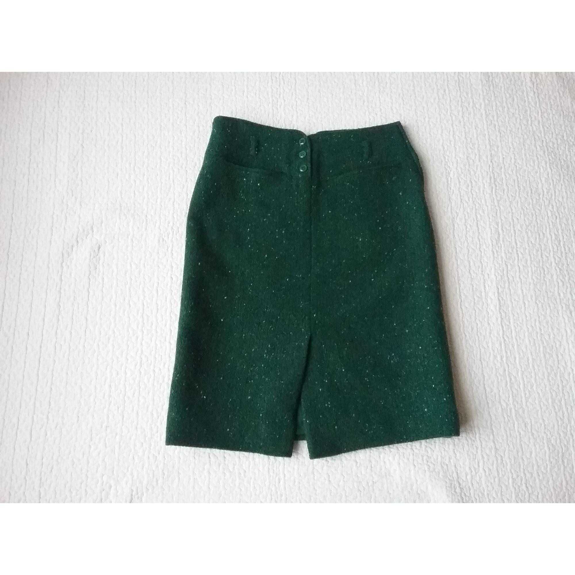 Jupe mi-longue CACHAREL Vert