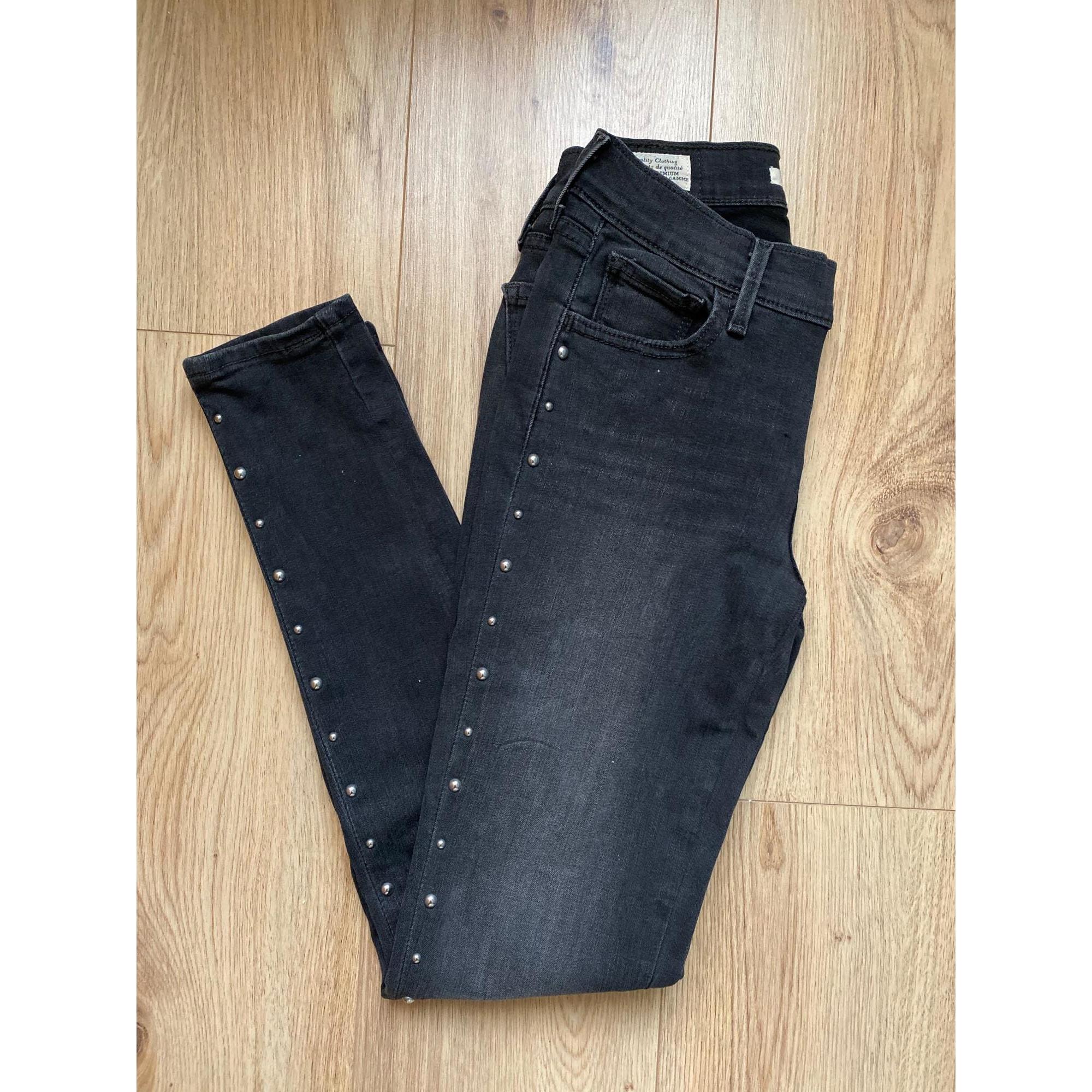 Jeans slim LEVI'S Gris, anthracite