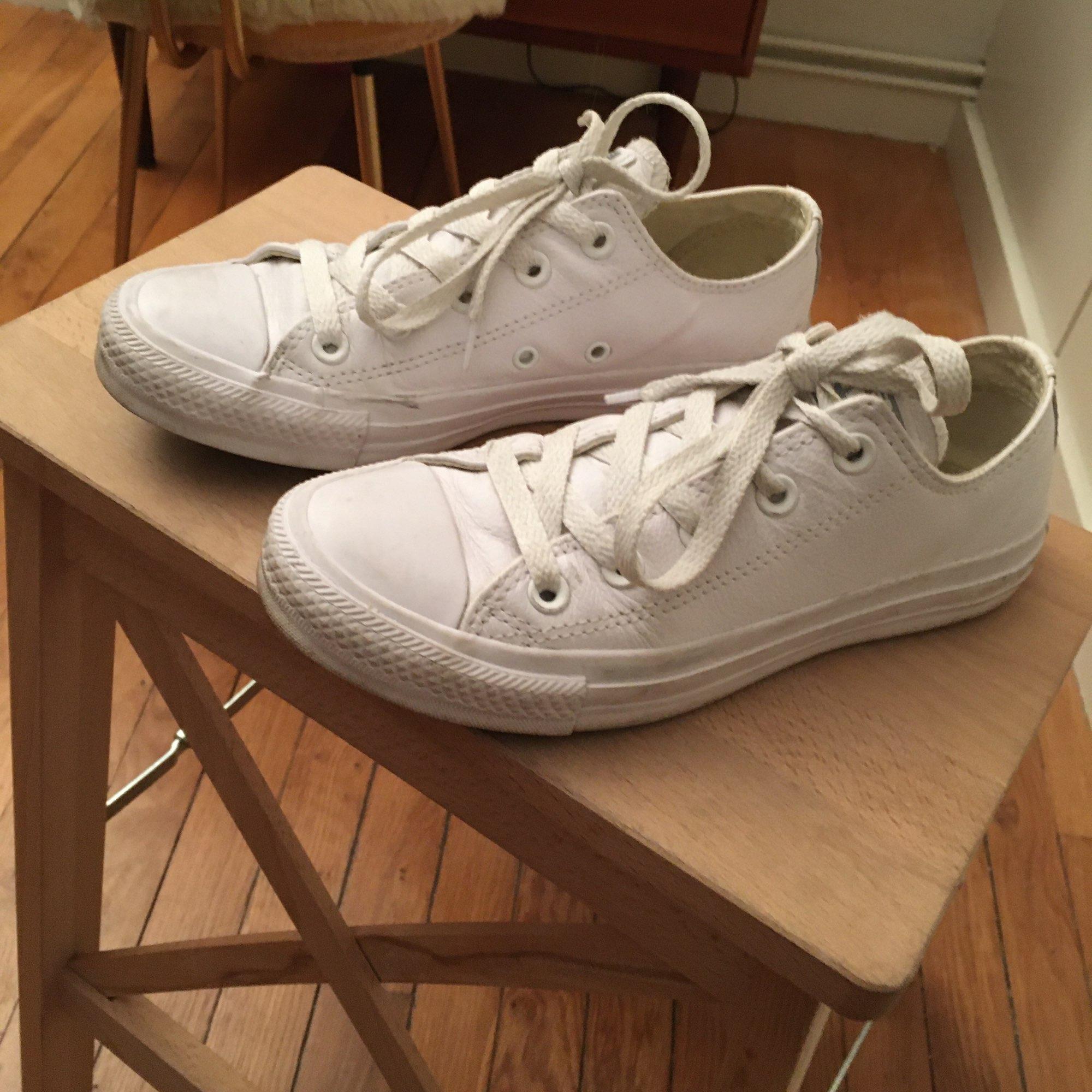 Baskets CONVERSE Blanc, blanc cassé, écru