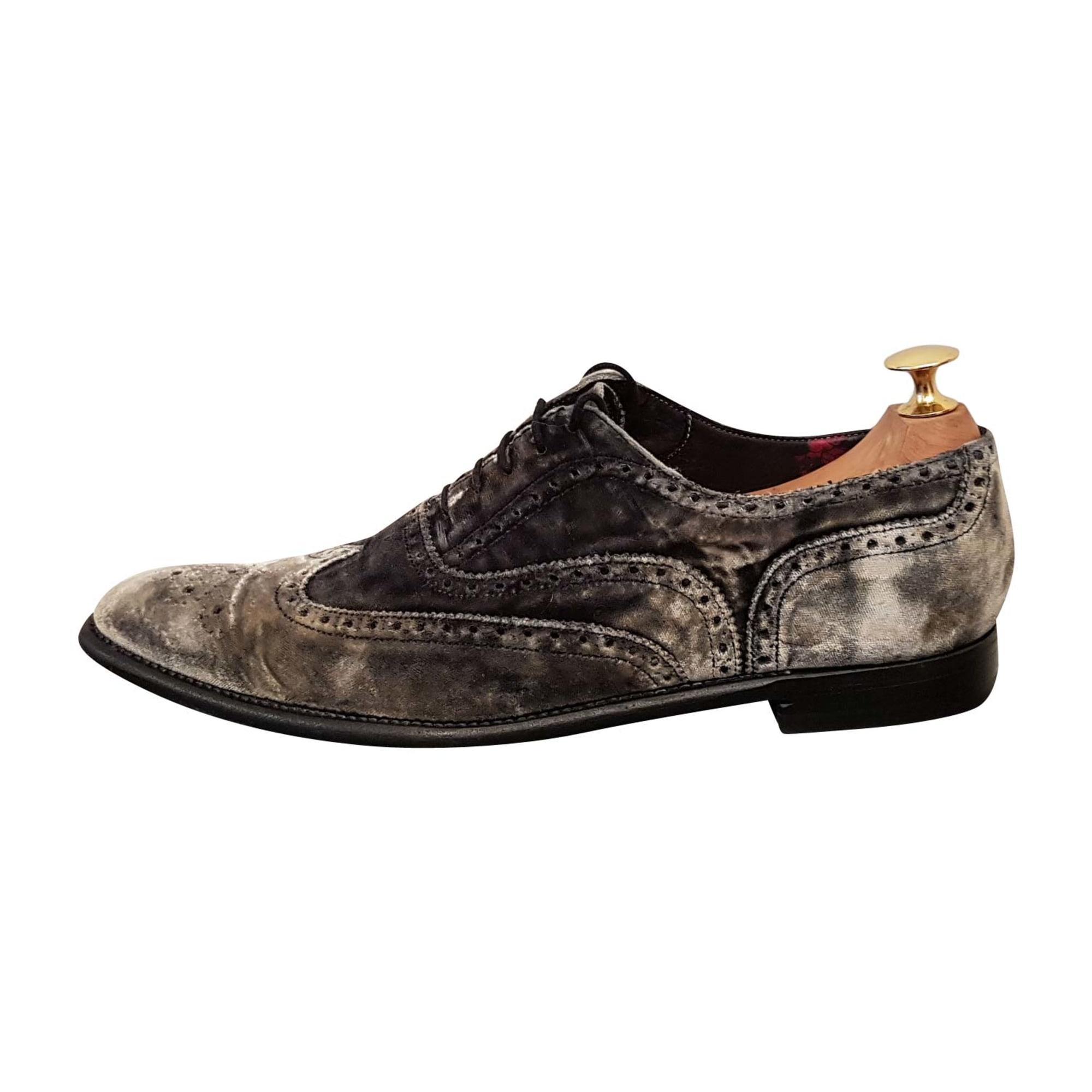 Chaussures à lacets PAUL SMITH Gris, anthracite