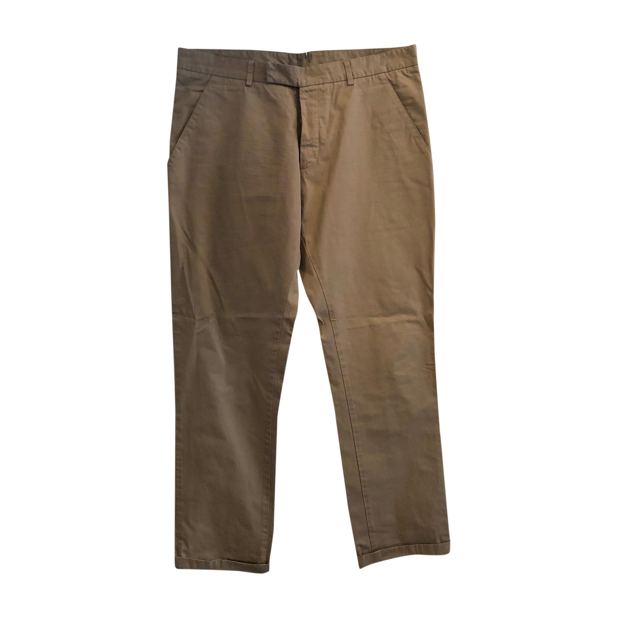 Pantalon droit DIOR HOMME Beige, camel