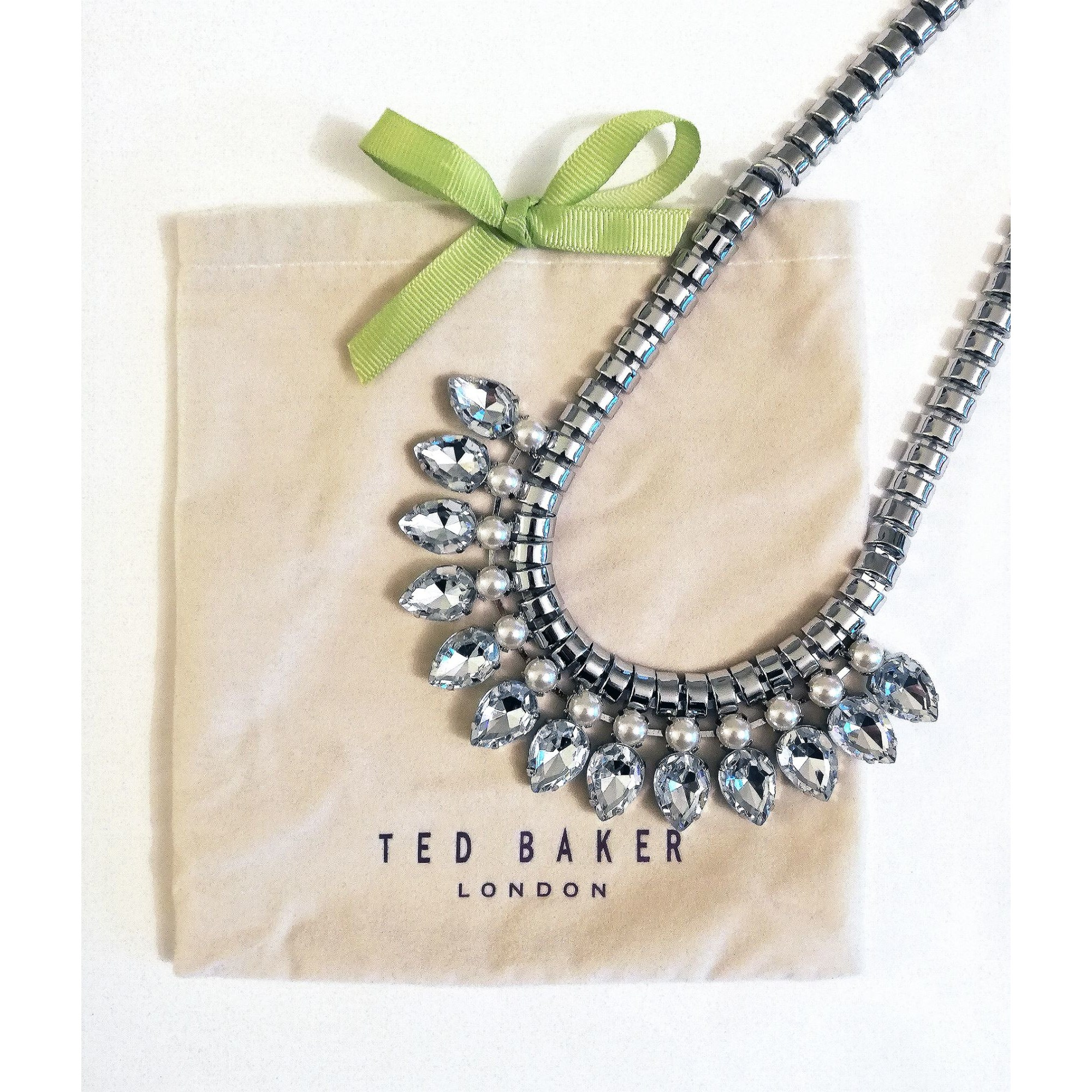 Collier TED BAKER perle (imitation) argent