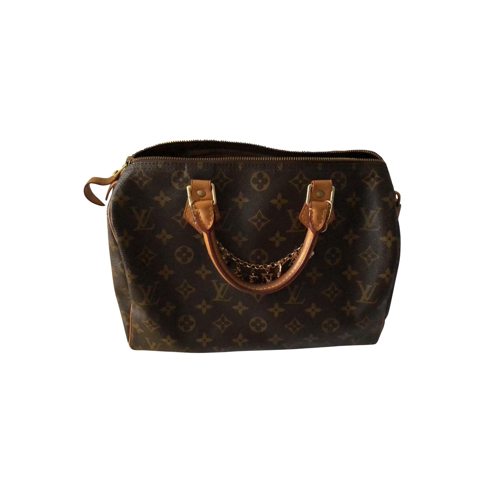 Leather Handbag LOUIS VUITTON Speedy Monogram