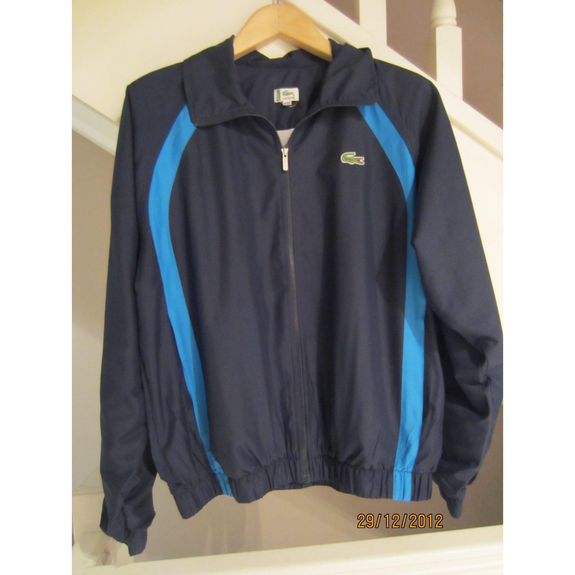 4df7d42897 Haut de survêtement LACOSTE 54 (L) bleu vendu par Kiwi75016103332 ...