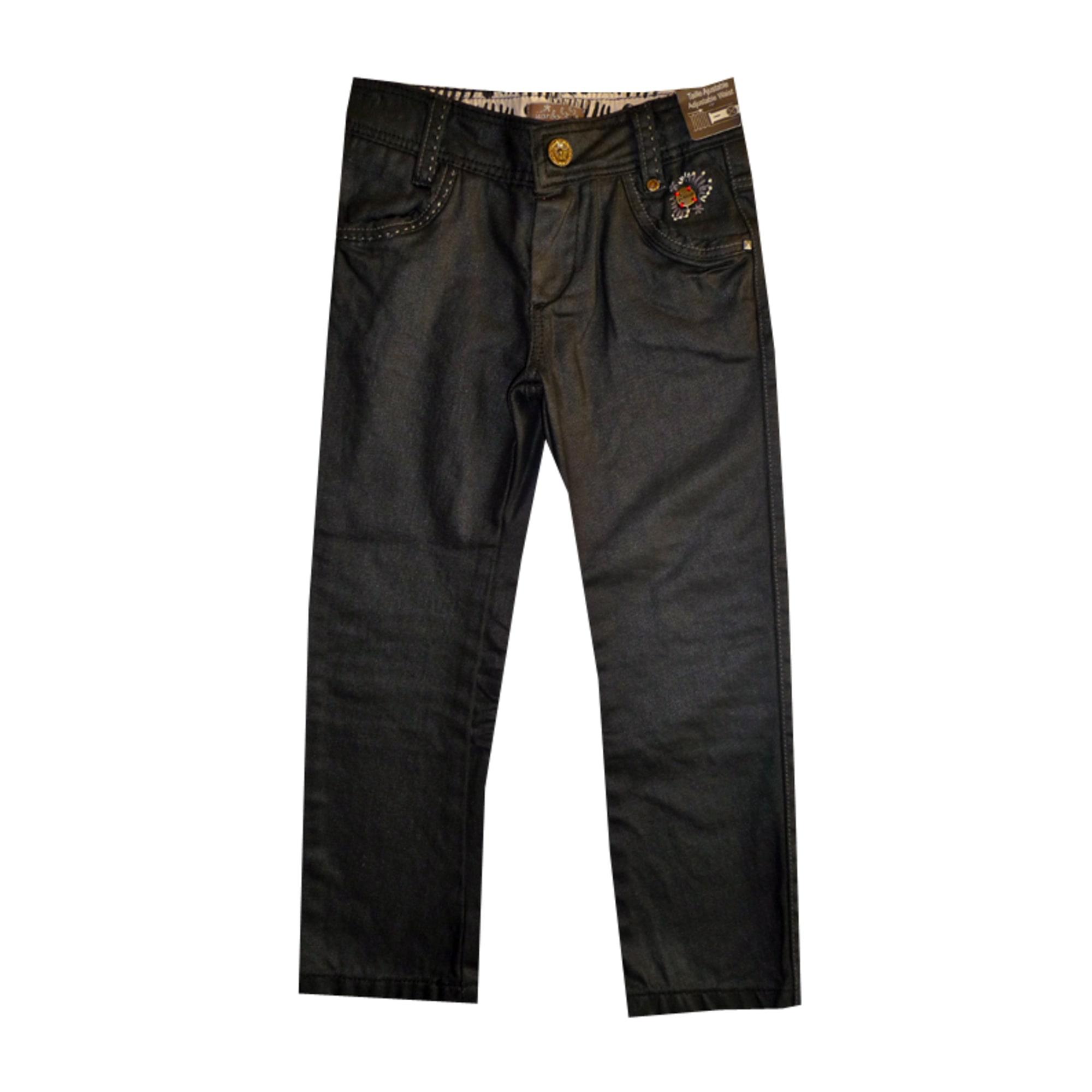 2d06bfd82f405 Pantalon JEAN BOURGET 5-6 ans noir - 1040848
