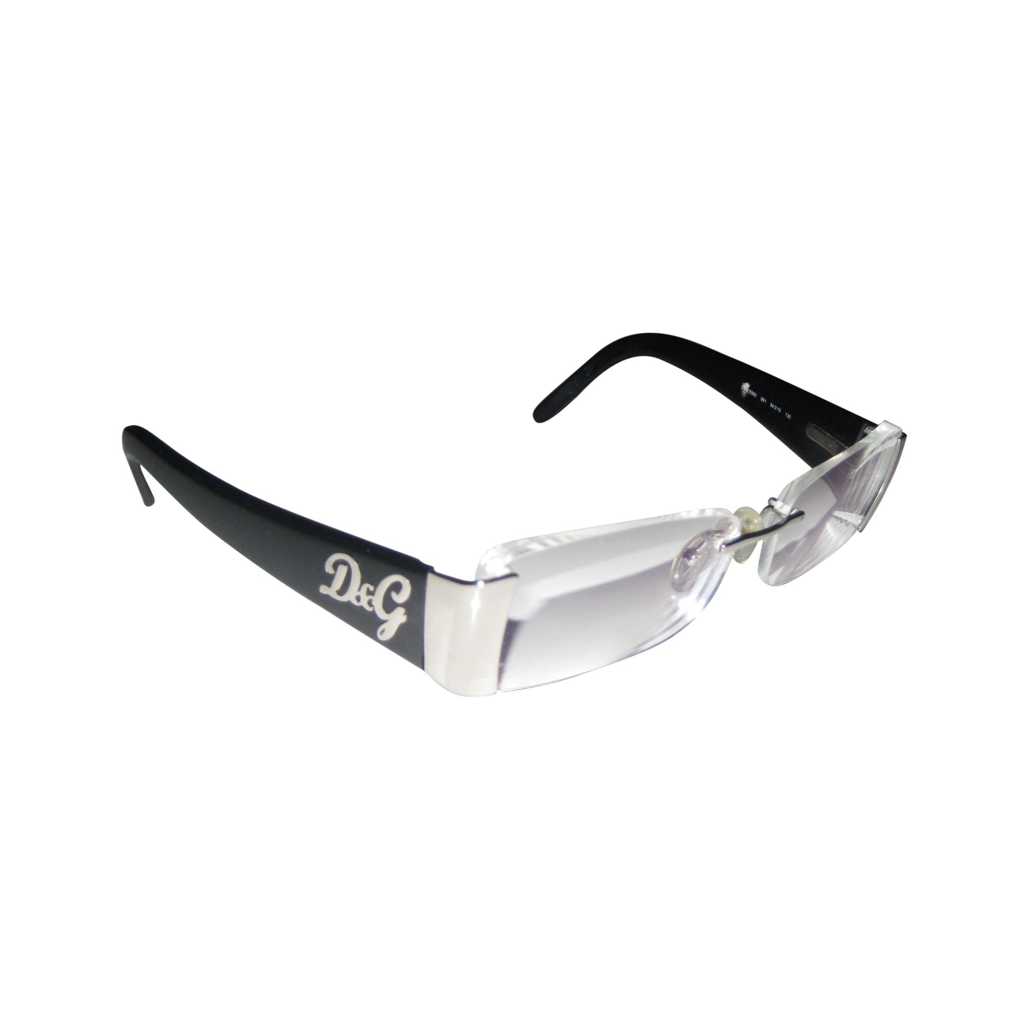 321537bc5c0df7 Monture de lunettes DOLCE   GABBANA noir vendu par Géri191553 - 1043250