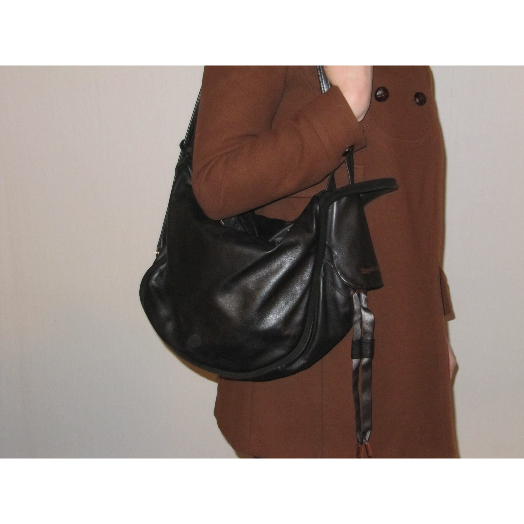 89058586b0 Sac à main en cuir REPETTO noir vendu par Lucination258416 - 1045281