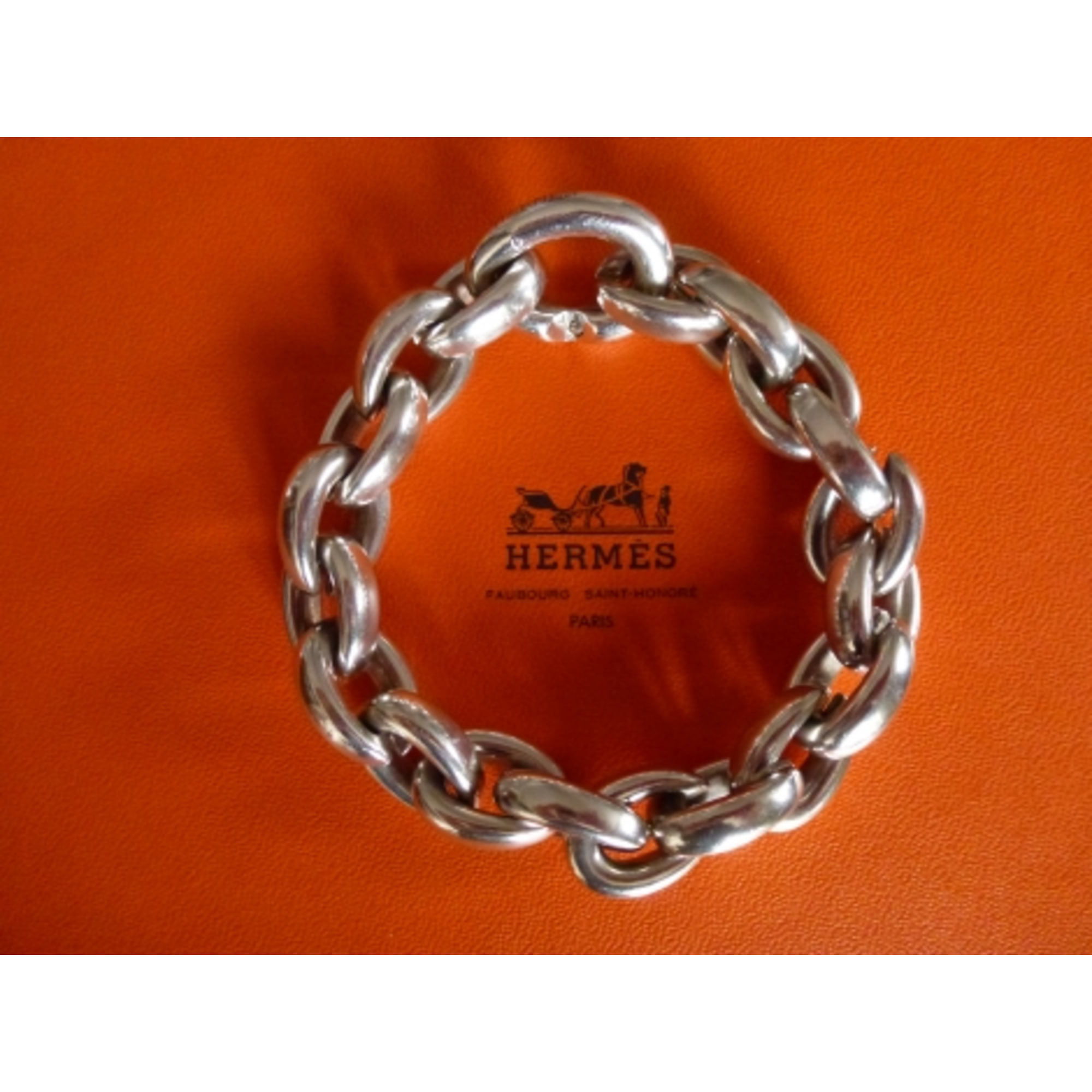 fd2017a0c8d Bracelet HERMÈS argenté vendu par Clementine 2357357 - 1058092