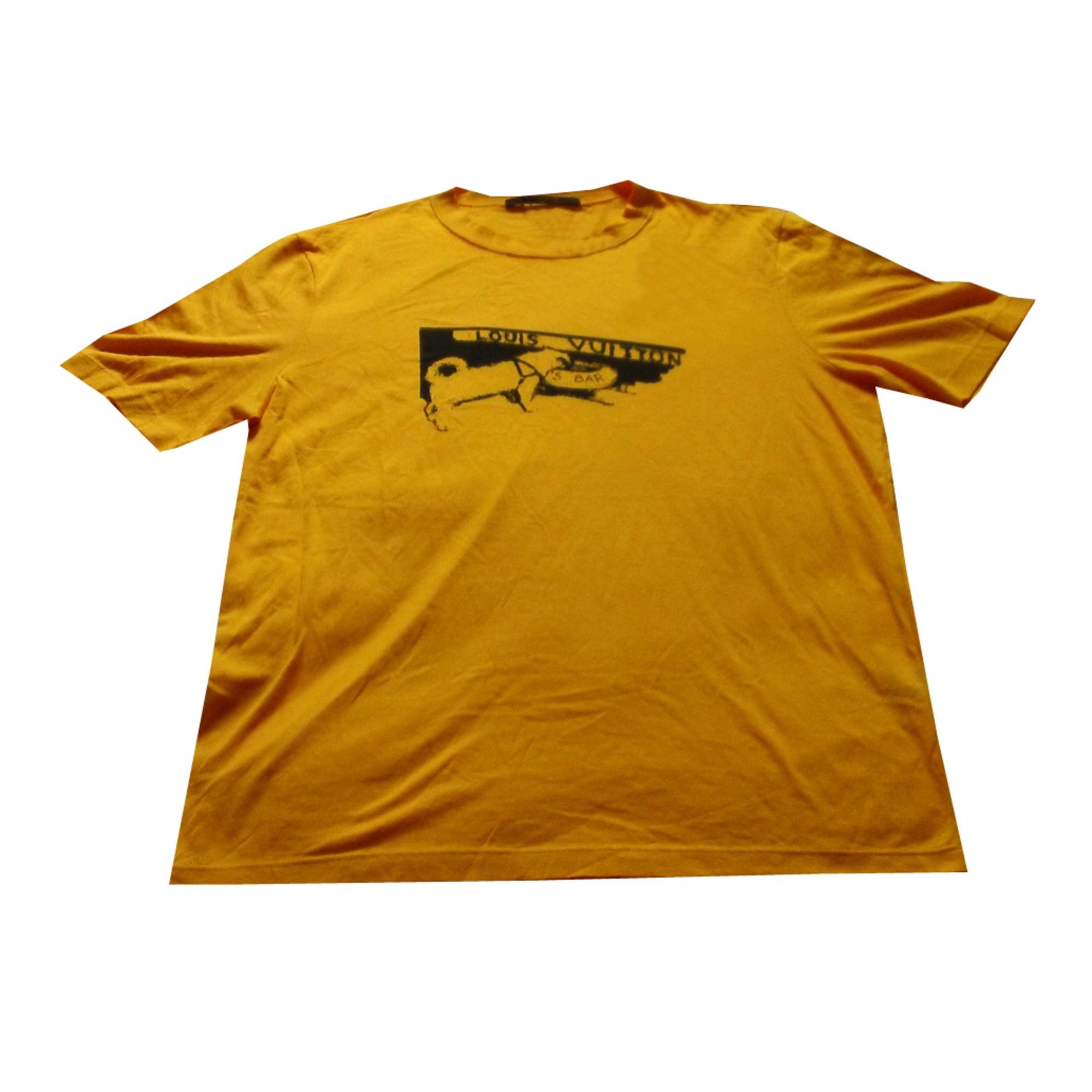 1bff85f8df37 Tee-shirt LOUIS VUITTON 2 (M) jaune - 1065810