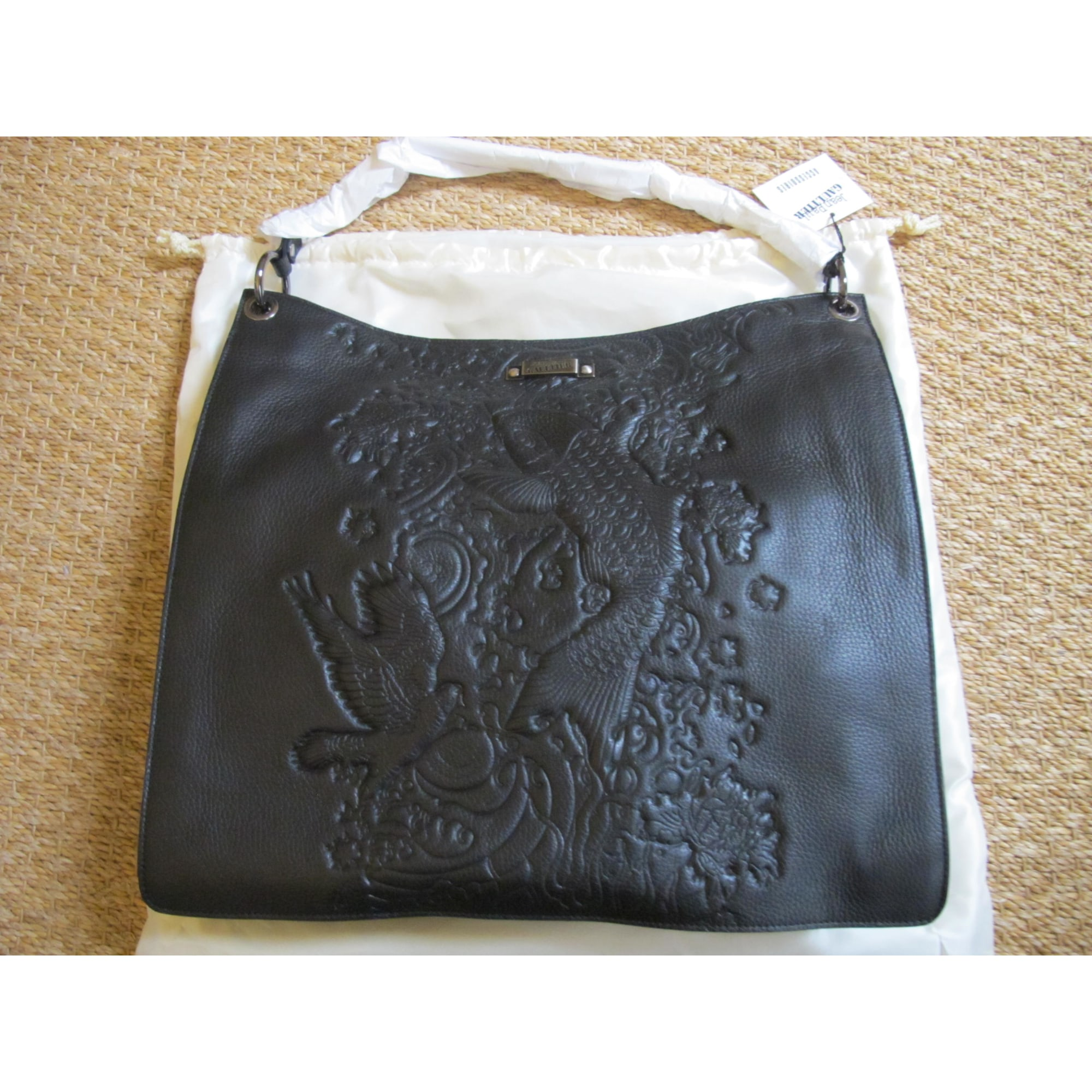 61cd02a1fa Sac à main en cuir JEAN PAUL GAULTIER noir vendu par Danae42 - 1076830