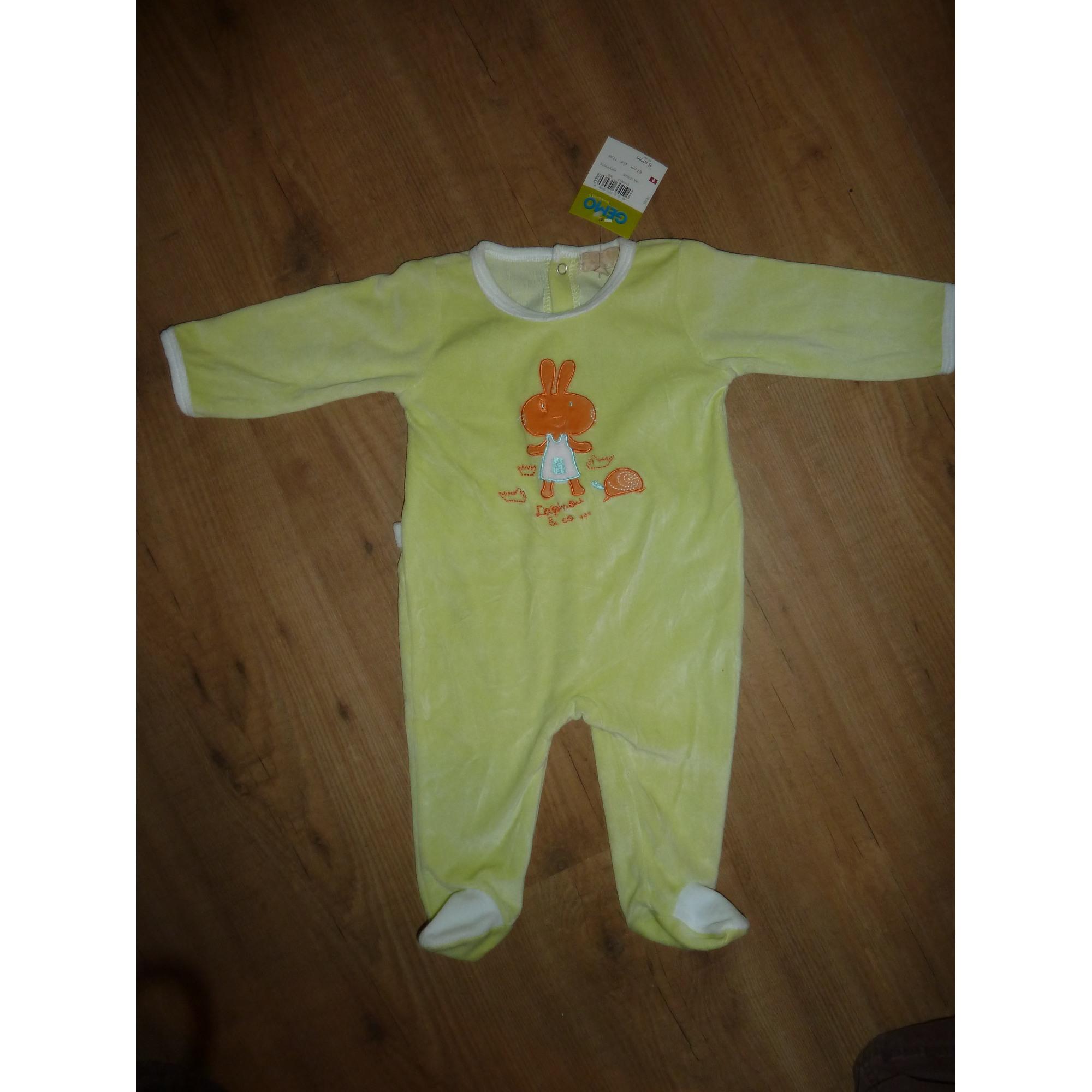 358ba7dff99bc Pyjama GÉMO 6 mois vert - 1080933