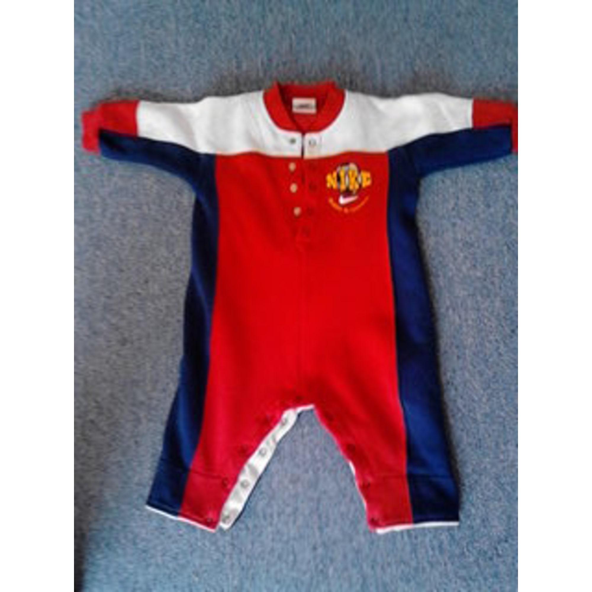 c345602261484 Ensemble & Combinaison pantalon NIKE 12 mois rouge - 1090605