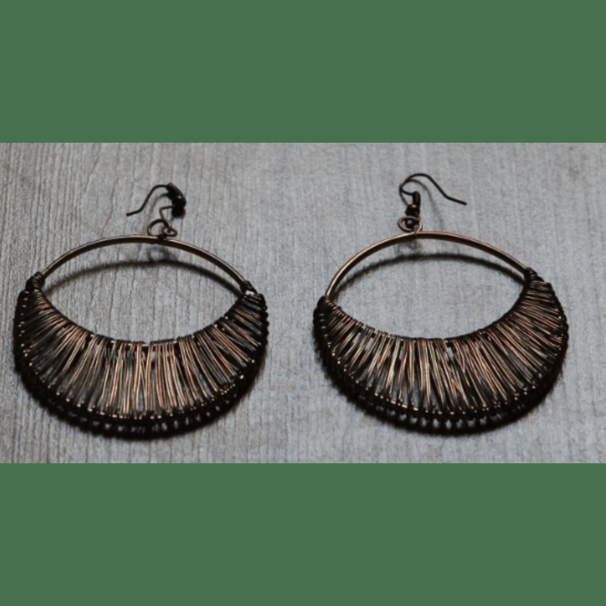 Boucles d'oreille TOPSHOP plaqué or doré