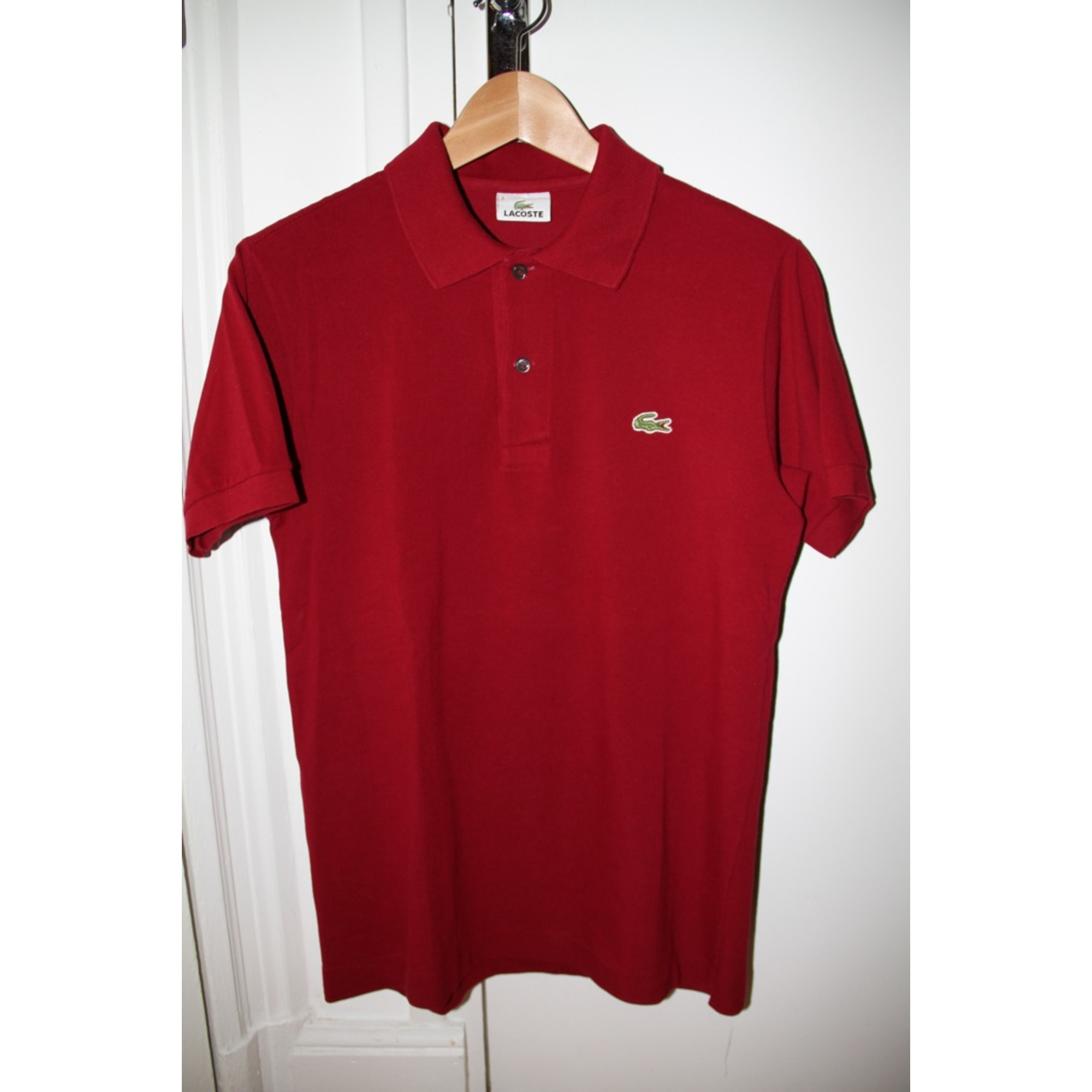 16f4f34b601 Polo LACOSTE 2 (M) rouge - 1133430