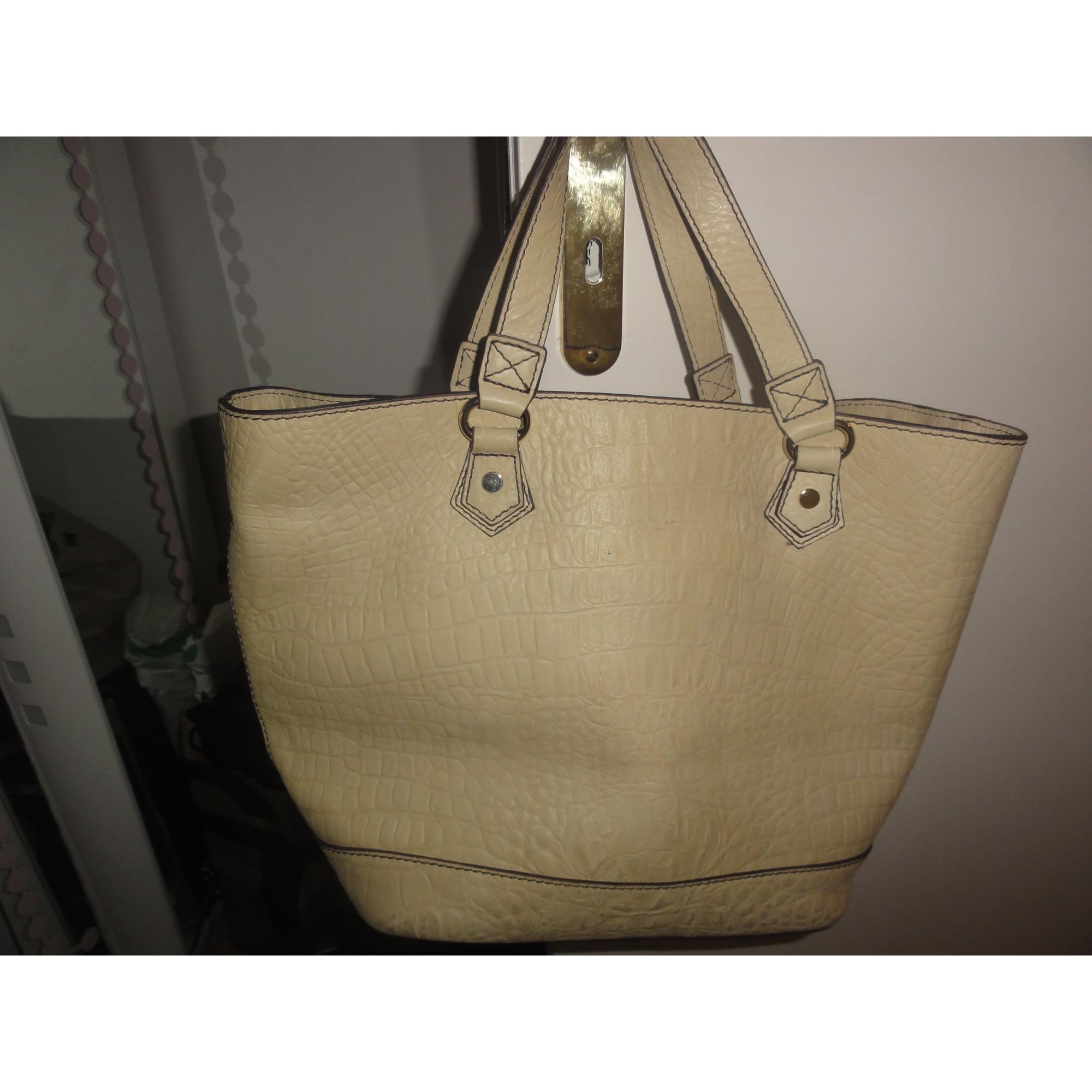 Sac à main en cuir CAROLL blanc vendu par Hoda230409 - 1135968 8615bf6a8be