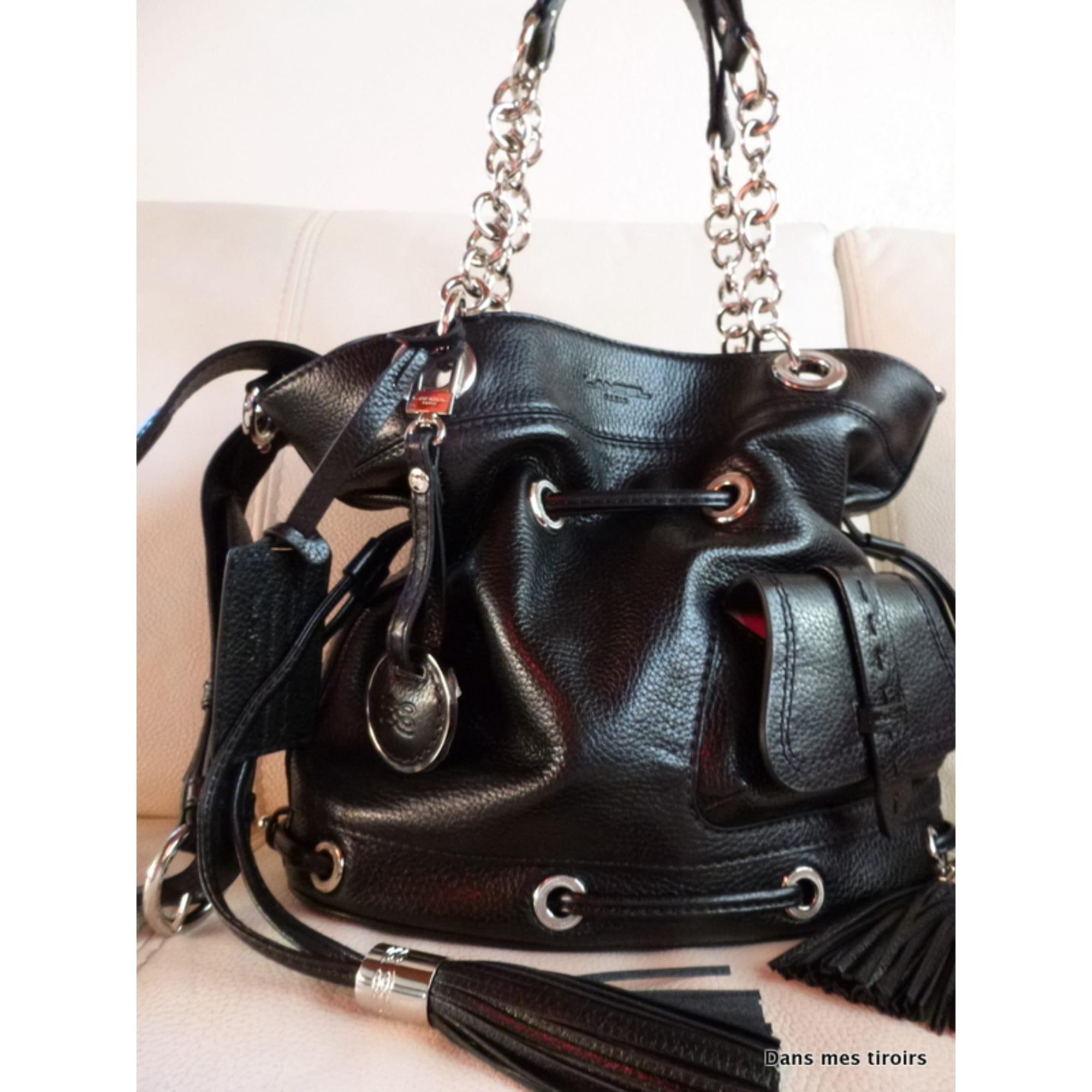 cbcf793948b Sac à main en cuir LANCEL noir vendu par Fit-latinahealthy75 - 1162493