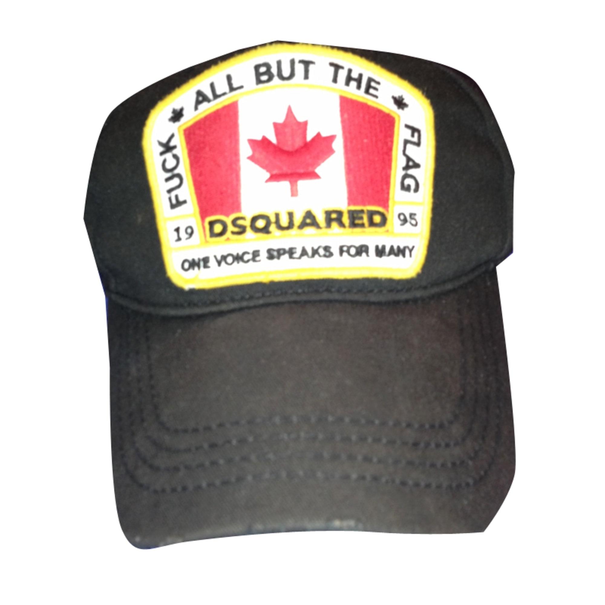 Casquette DSQUARED Taille unique noir vendu par Alex287781 - 1191065 eb158ed7b63b