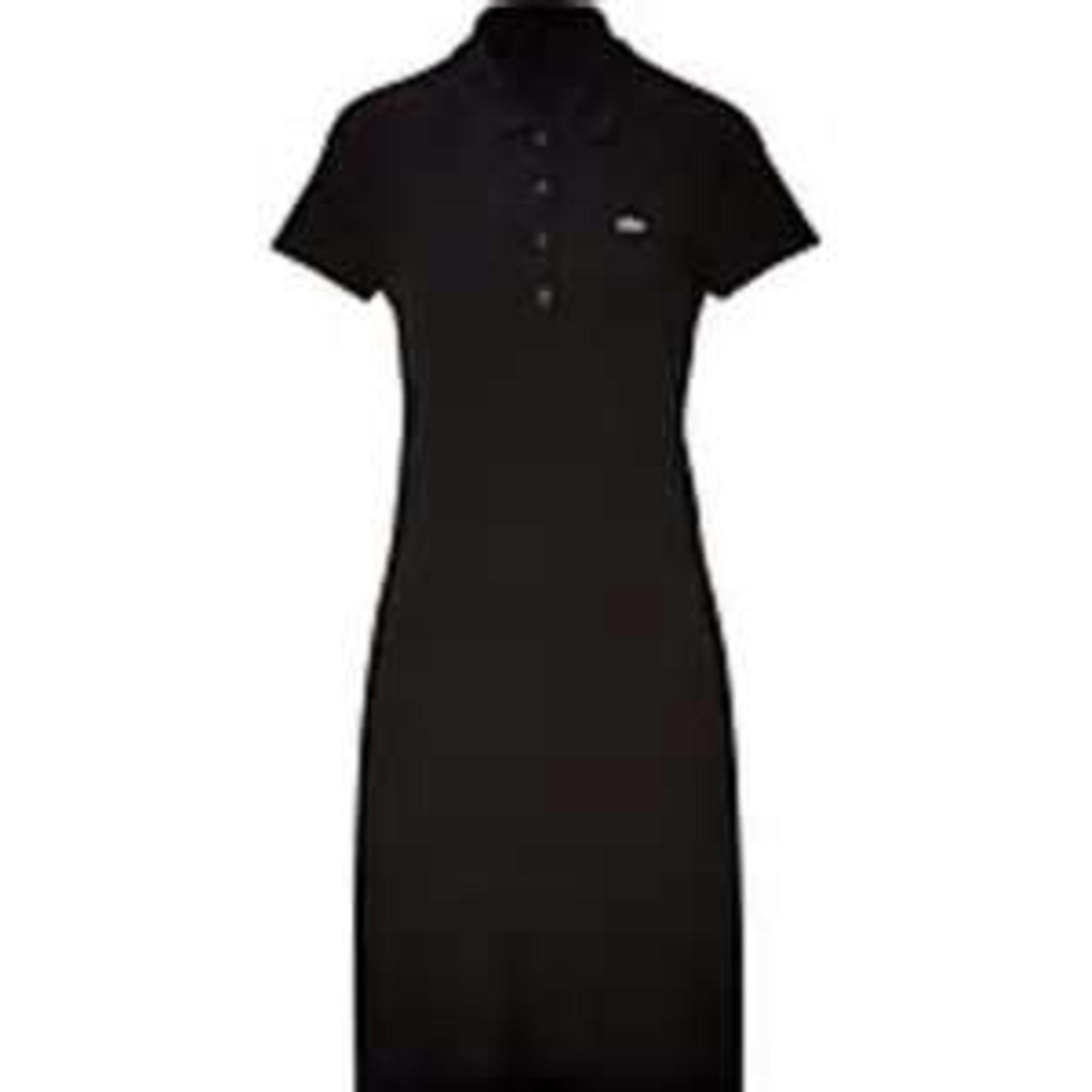 c2a379523d Robe courte LACOSTE 36 (S, T1) noir vendu par La boutique de la ...