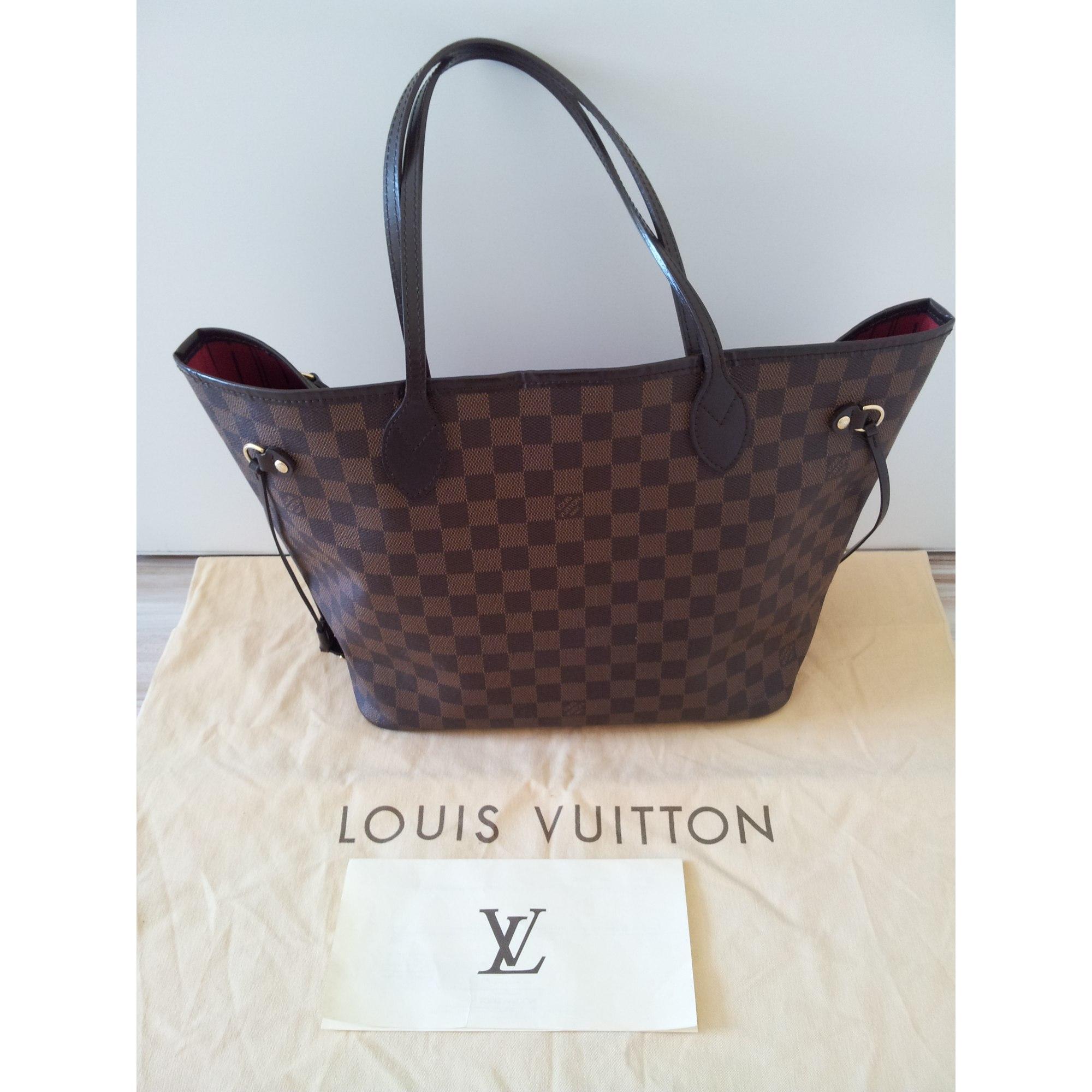 Sac à main en cuir LOUIS VUITTON marron vendu par Shopname296380 ... 0a7e5a46585