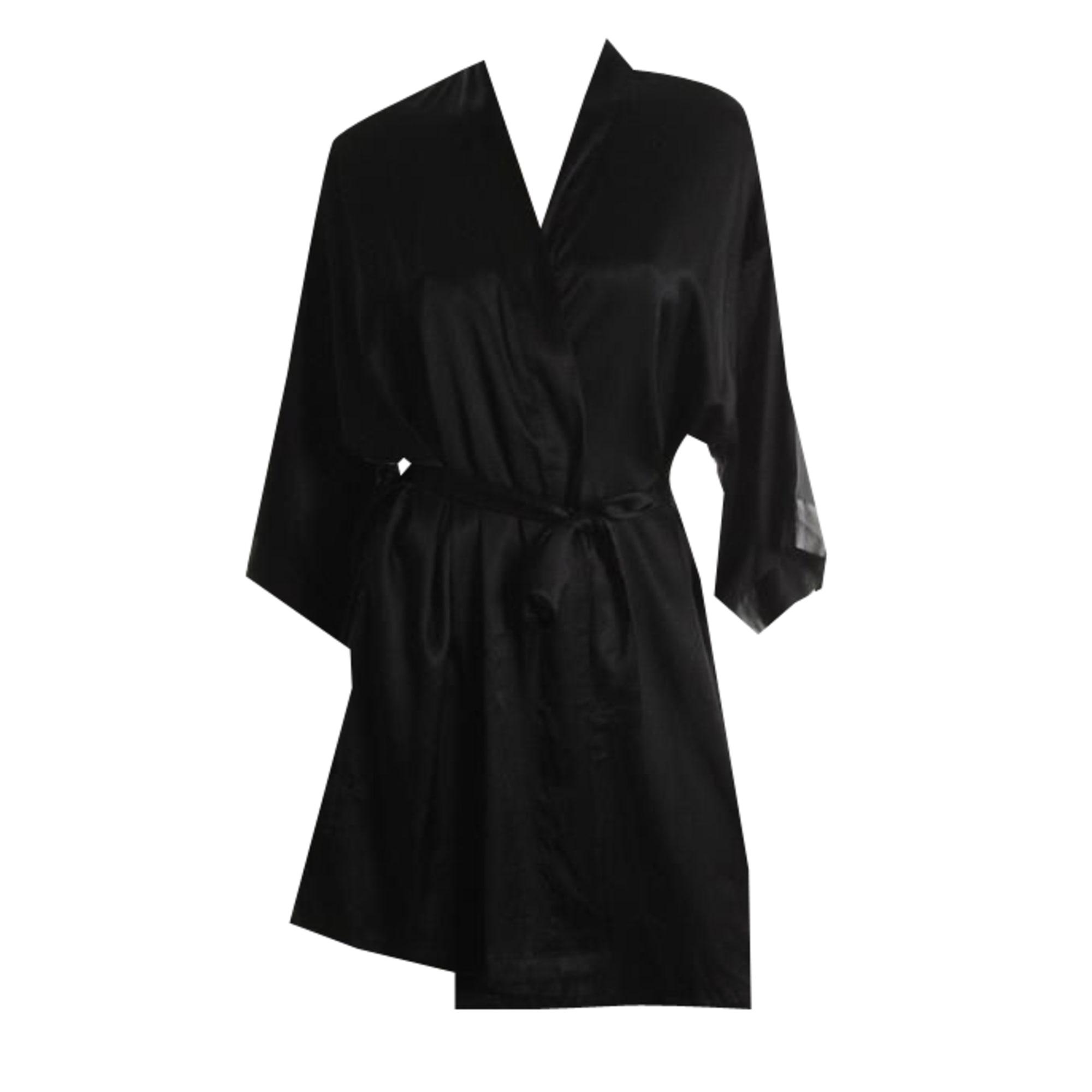 Dressing Gown VICTORIA'S SECRET 36 (S, T1) black - 1262118