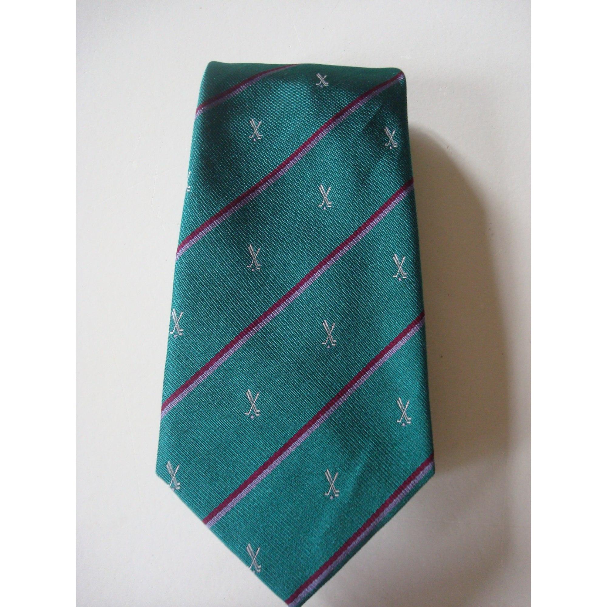 Cravate ALAIN FIGARET Vert