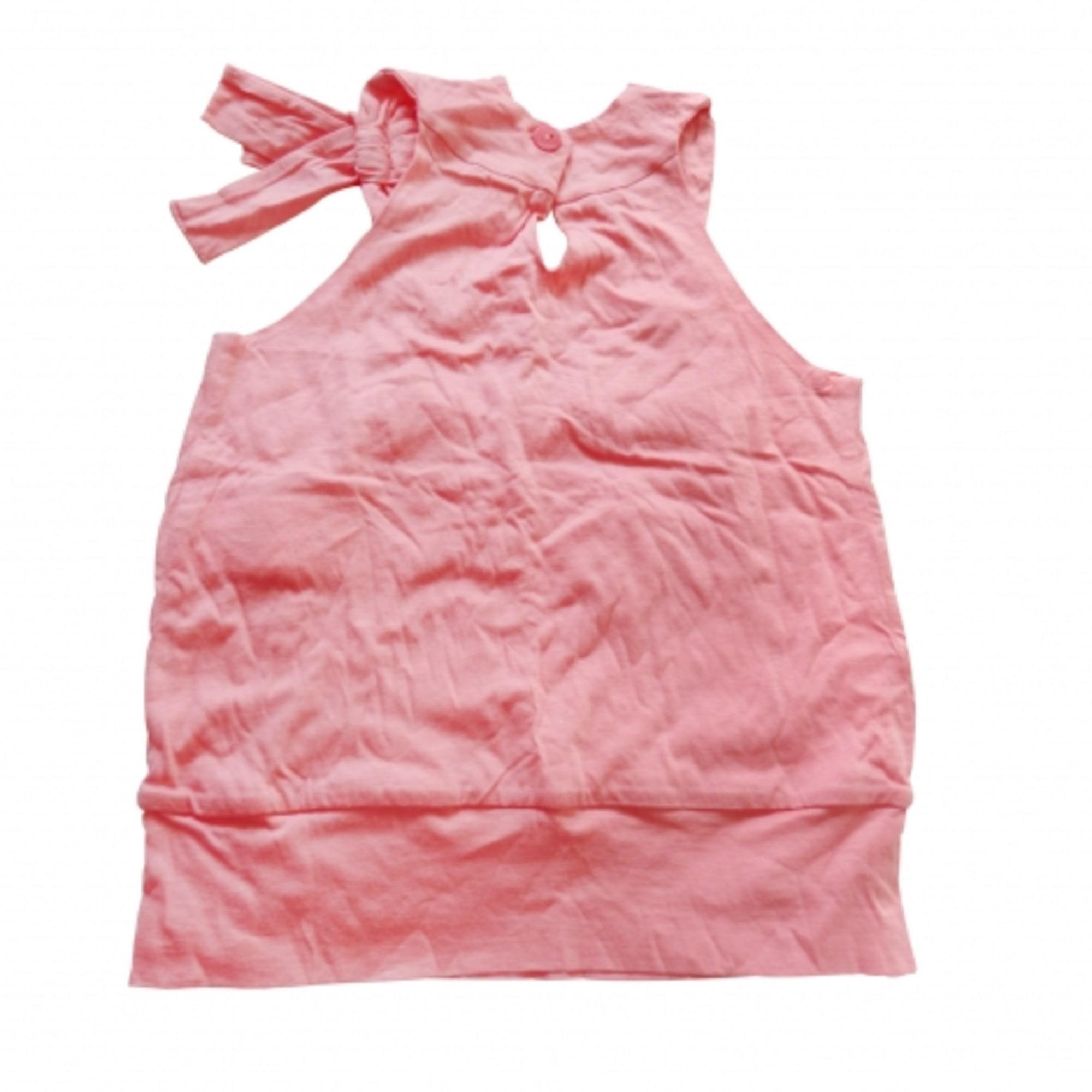 Top, Tee-shirt REPETTO coton orange 2 ans