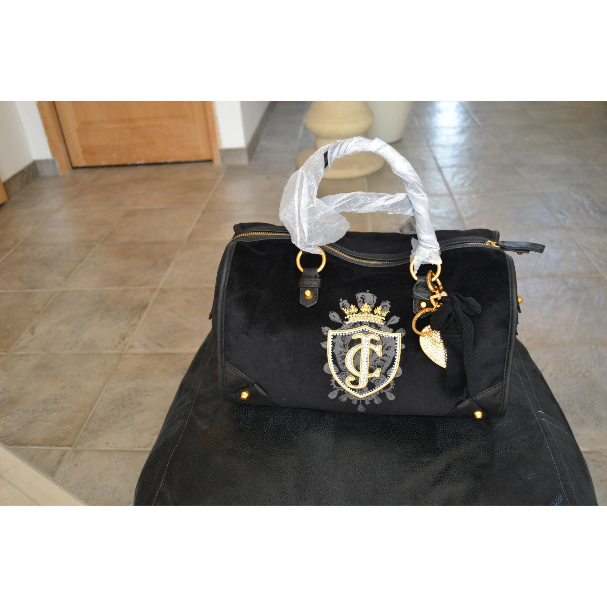 92d0561534 Sac à main en tissu JUICY COUTURE noir vendu par Valérie 103262672 ...