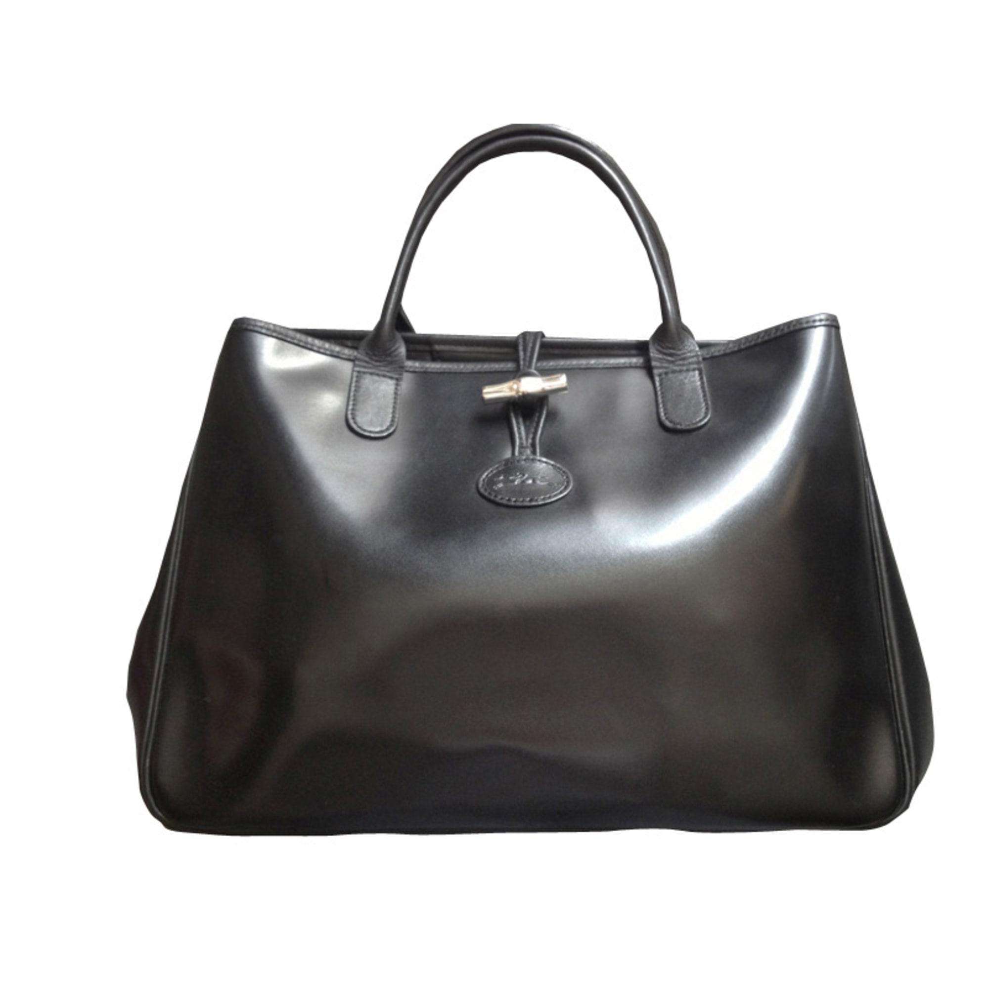 Noir Longchamp Main 1290340 Sac À Par Loulouch18955 Vendu En Cuir qjL3R5A4