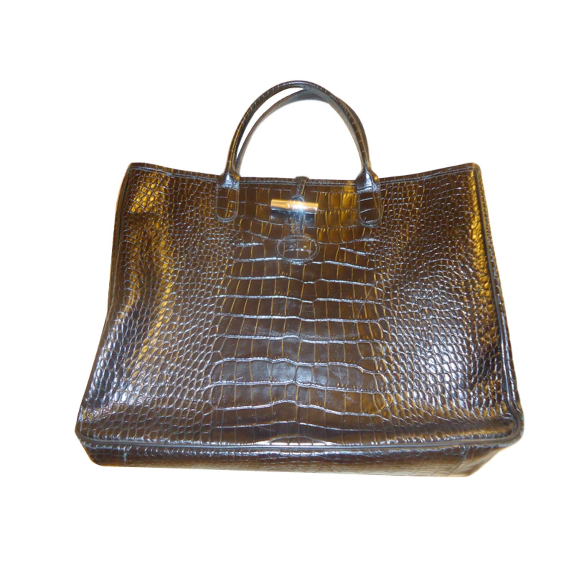 0557723723 Sac à main en cuir LONGCHAMP noir vendu par Claudine 13266425 - 1305743