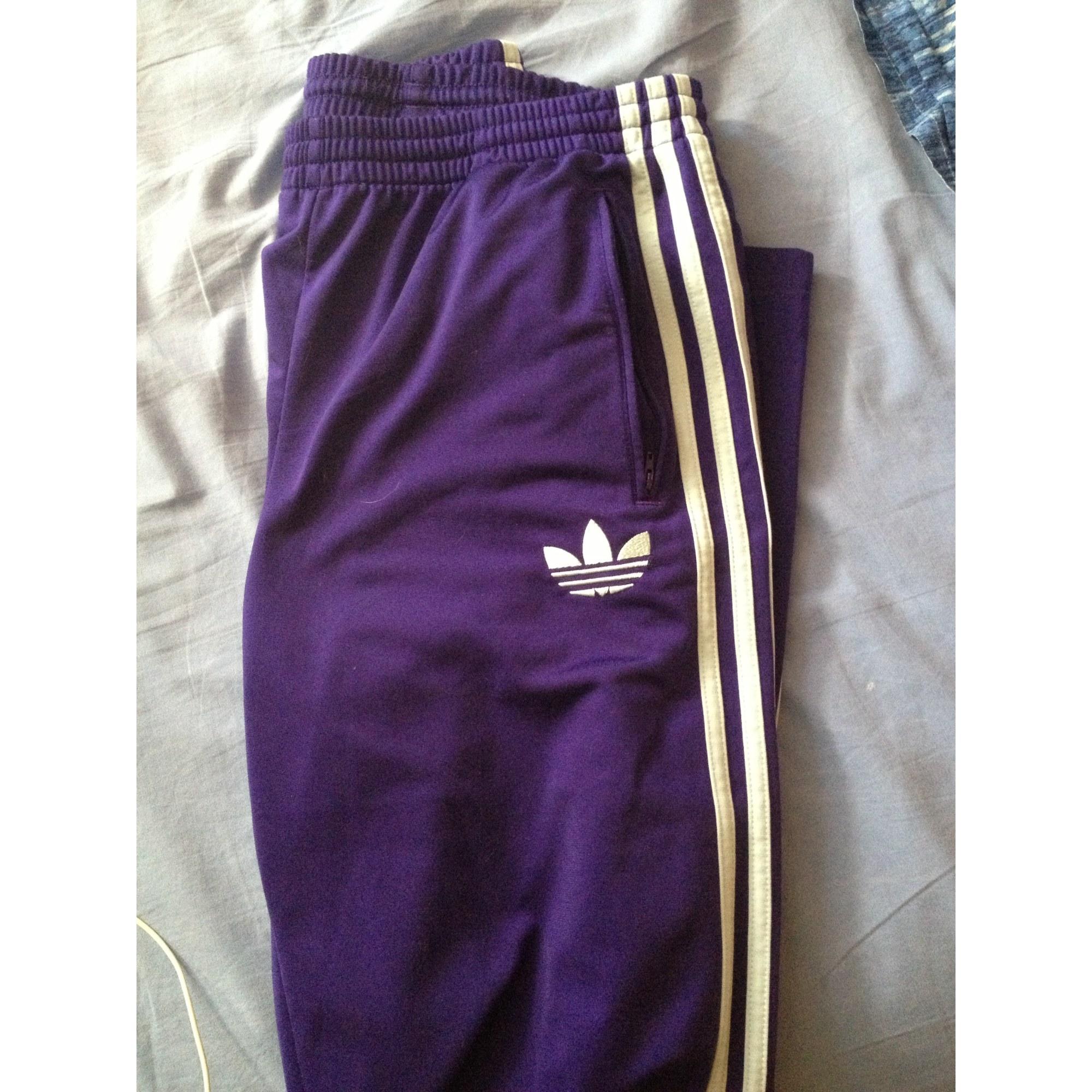 adidas violet pantalon femme noir wOPZkTXiu