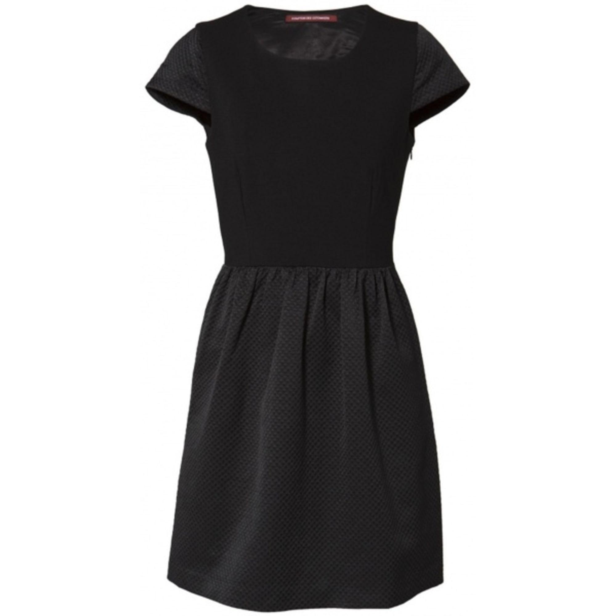 Robe Mi Longue Comptoir Des Cotonniers 36 S T1 Noir Vendu Par