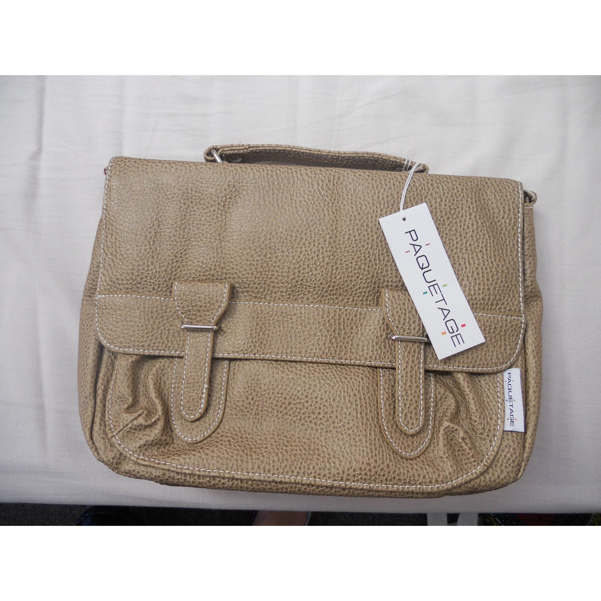 f83ef402f9 Sac en bandoulière en cuir PAQUETAGE blanc vendu par Kro 76 - 1348081